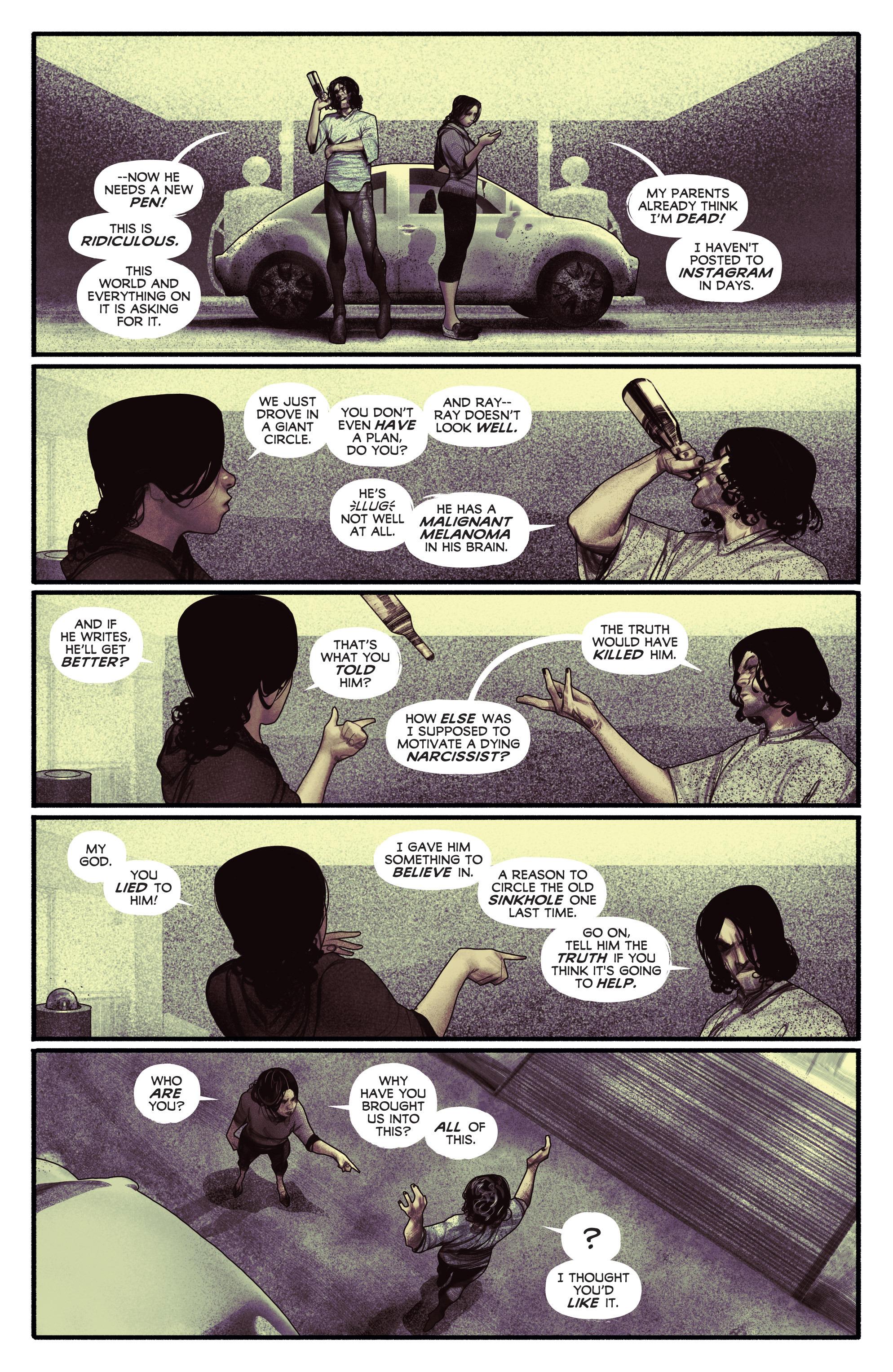 Read online Annihilator comic -  Issue #5 - 22