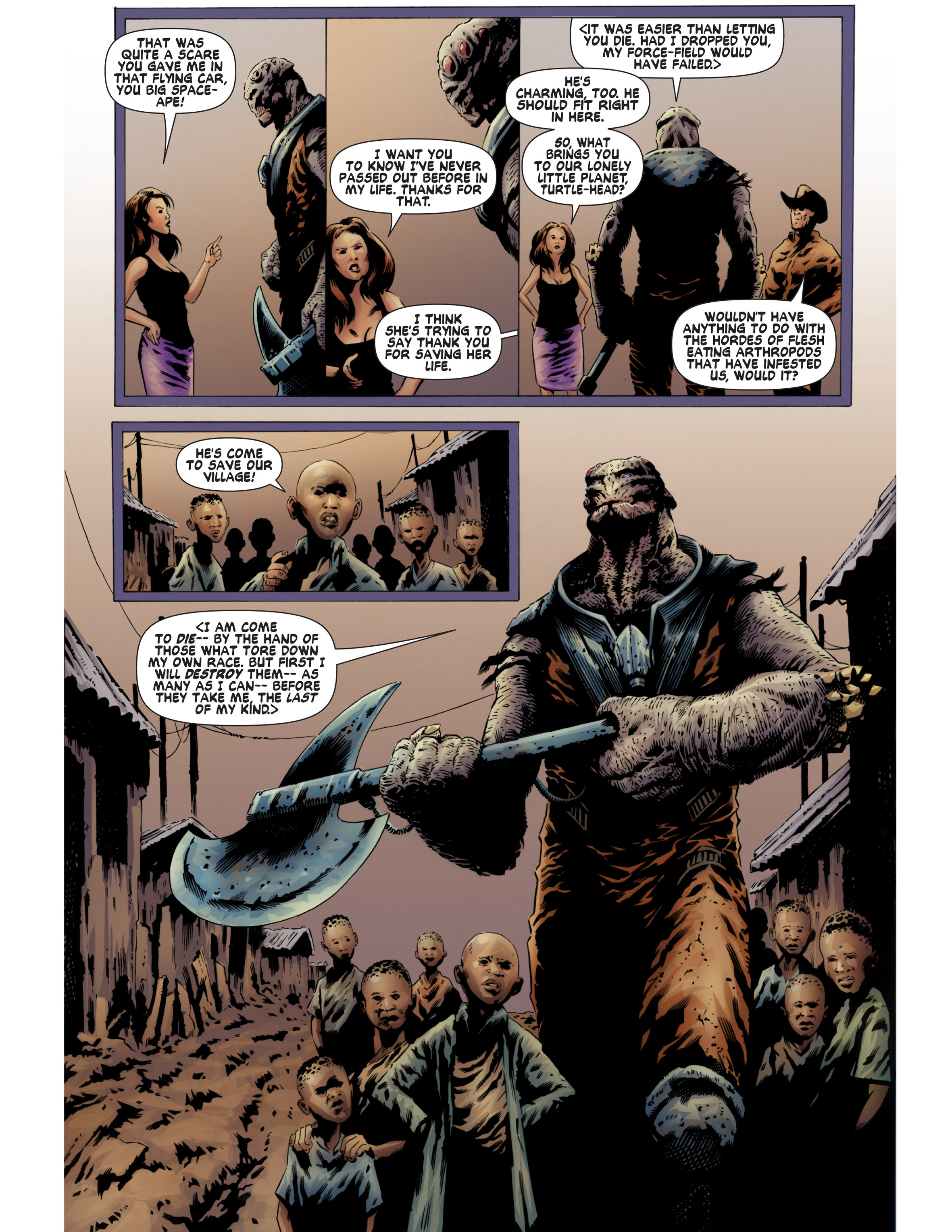 Read online Bad Planet comic -  Issue # TPB - 90