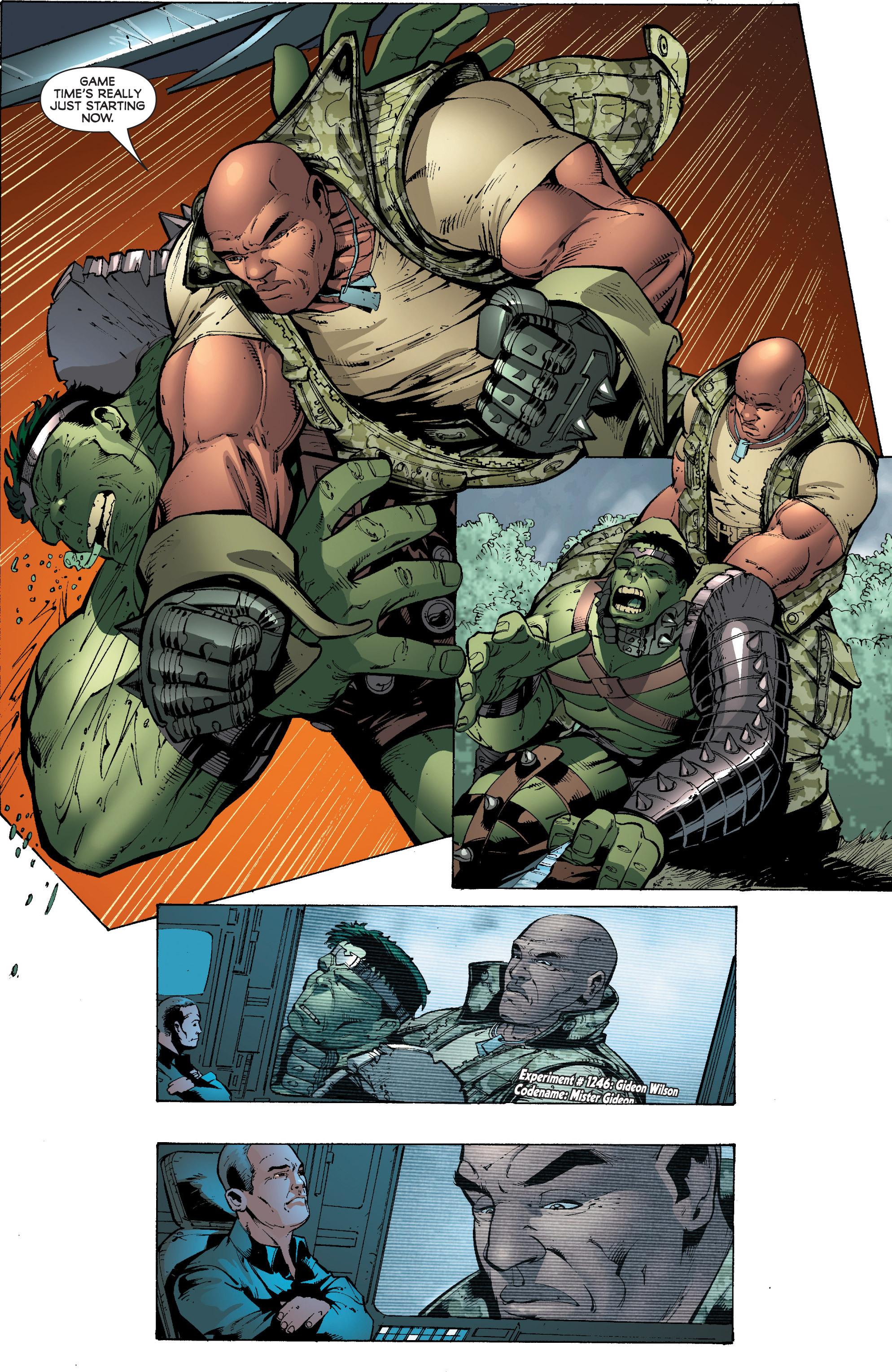 Read online World War Hulk: Gamma Corps comic -  Issue #3 - 14
