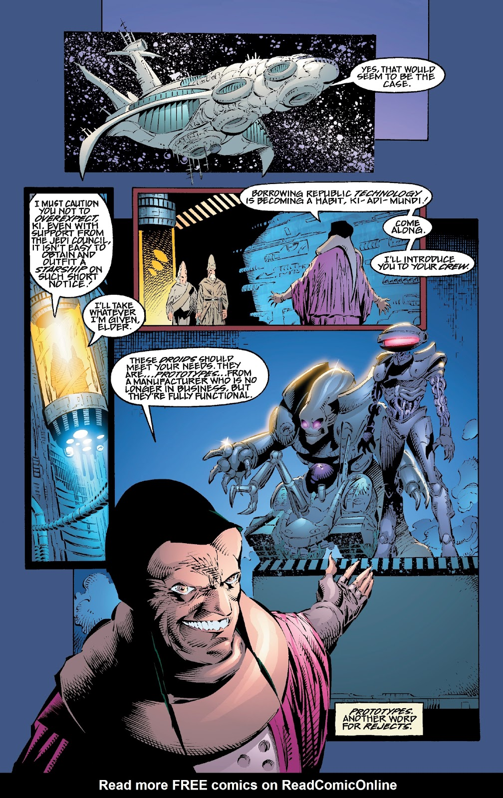 Read online Star Wars Legends: Rise of the Sith - Epic Collection comic -  Issue # TPB 2 (Part 1) - 85