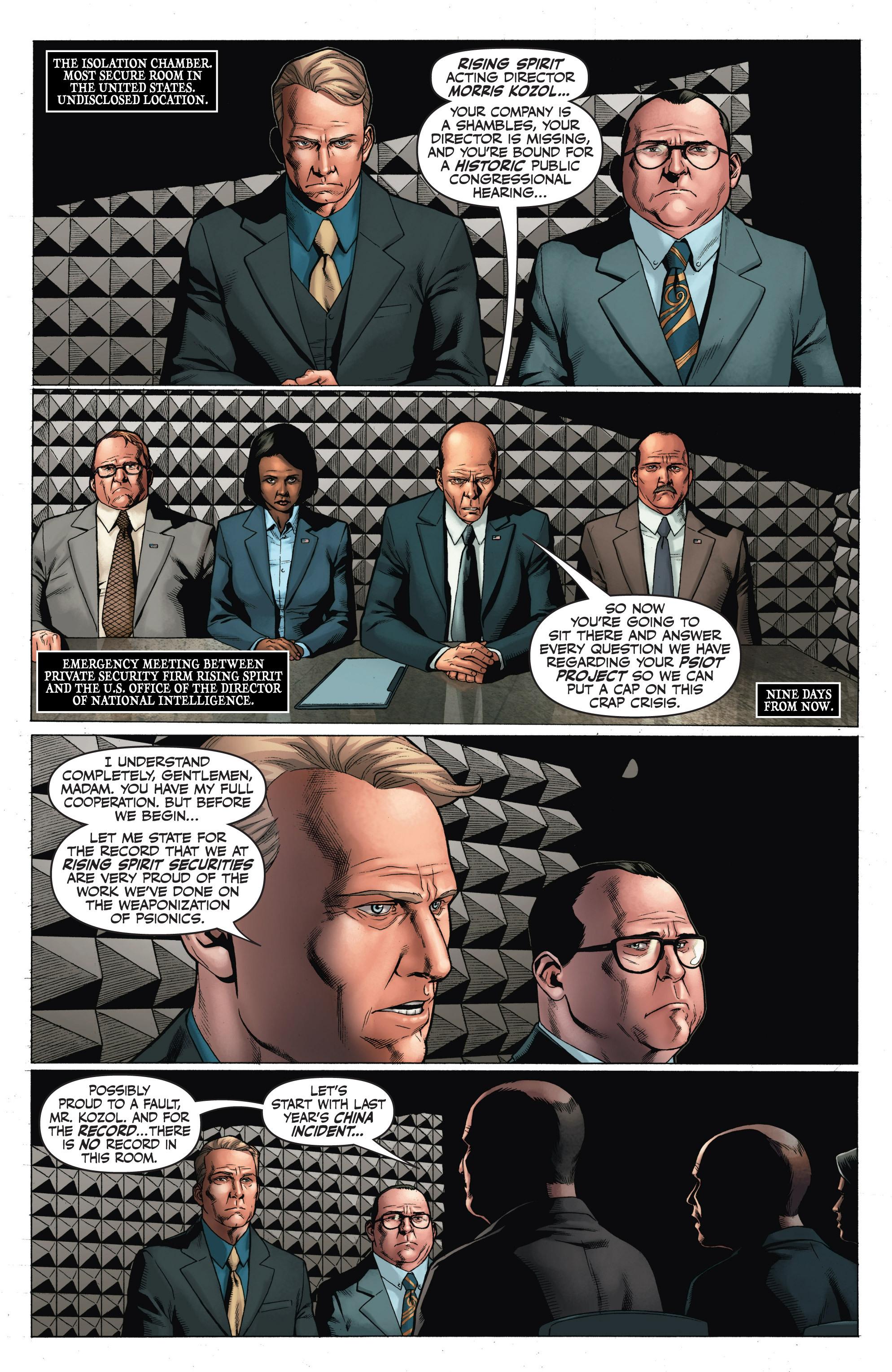 Read online Armor Hunters: Harbinger comic -  Issue # TPB - 78