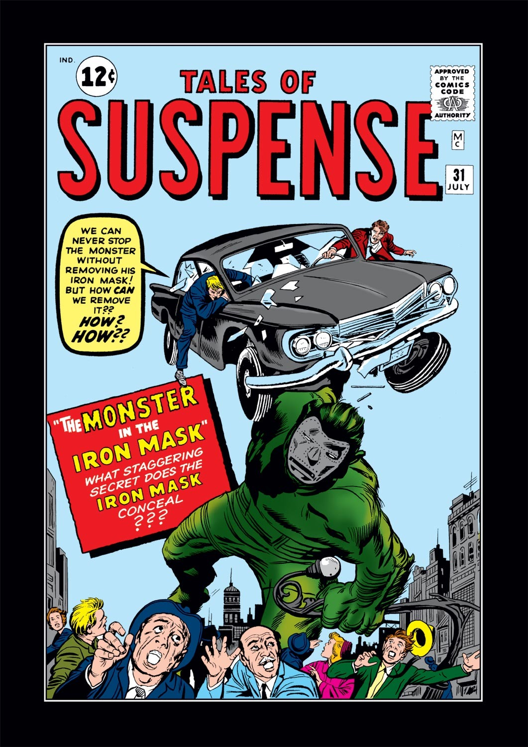 Tales of Suspense (1959) issue 31 - Page 1