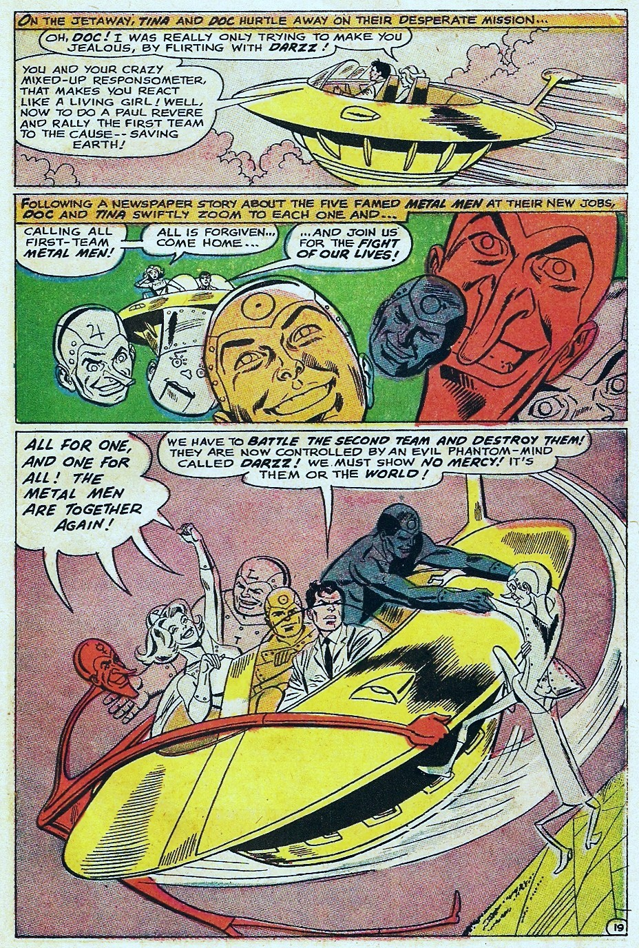Metal Men (1963) issue 31 - Page 27
