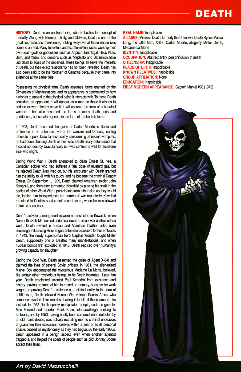 Read online All-New Official Handbook of the Marvel Universe A to Z comic -  Issue #3 - 27