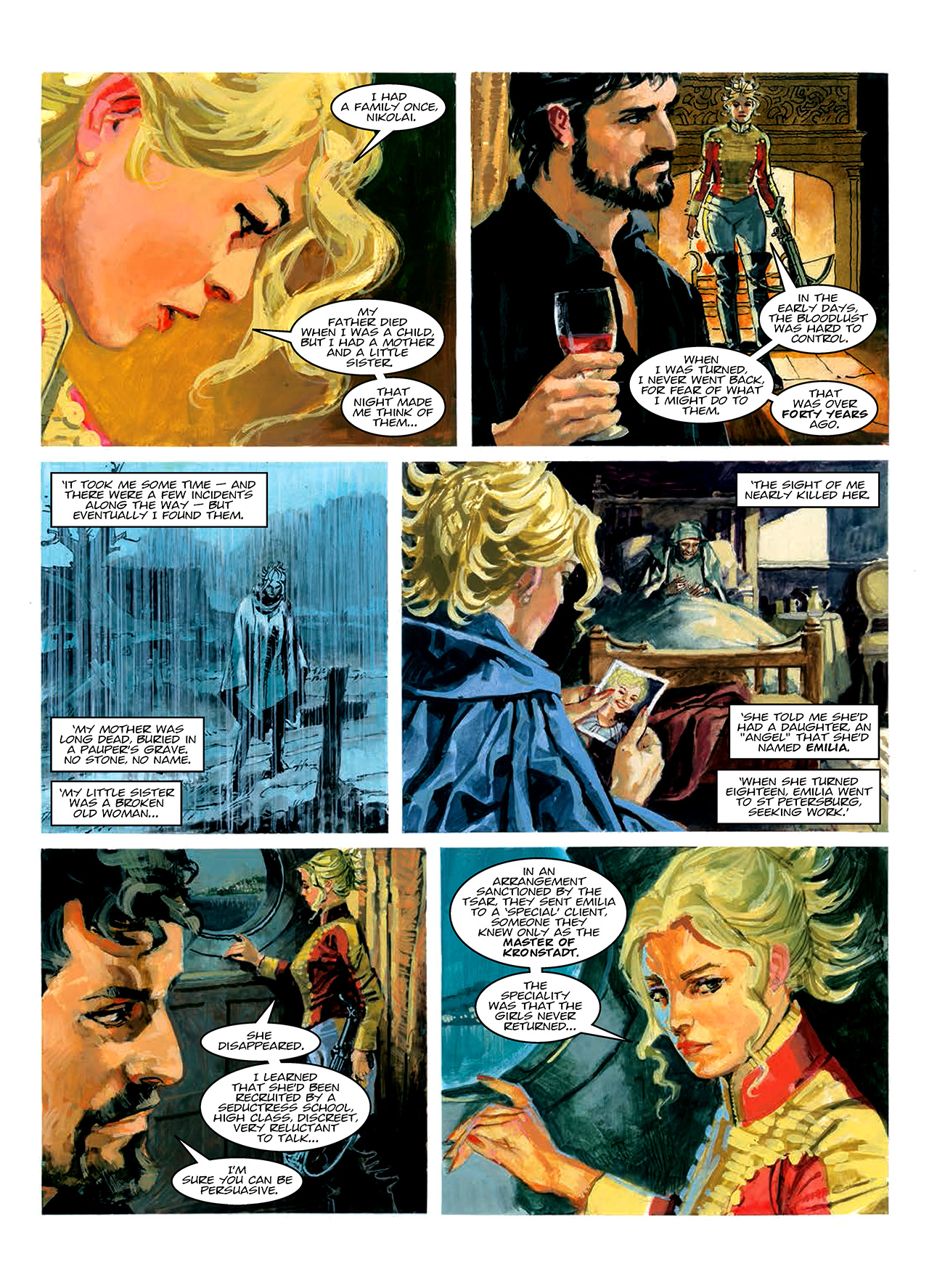 Read online Nikolai Dante comic -  Issue # TPB 10 - 173