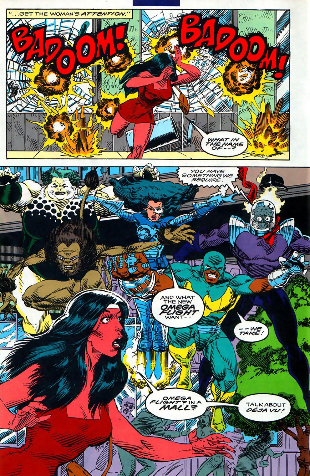 Read online Alpha Flight (1983) comic -  Issue #110 - 8