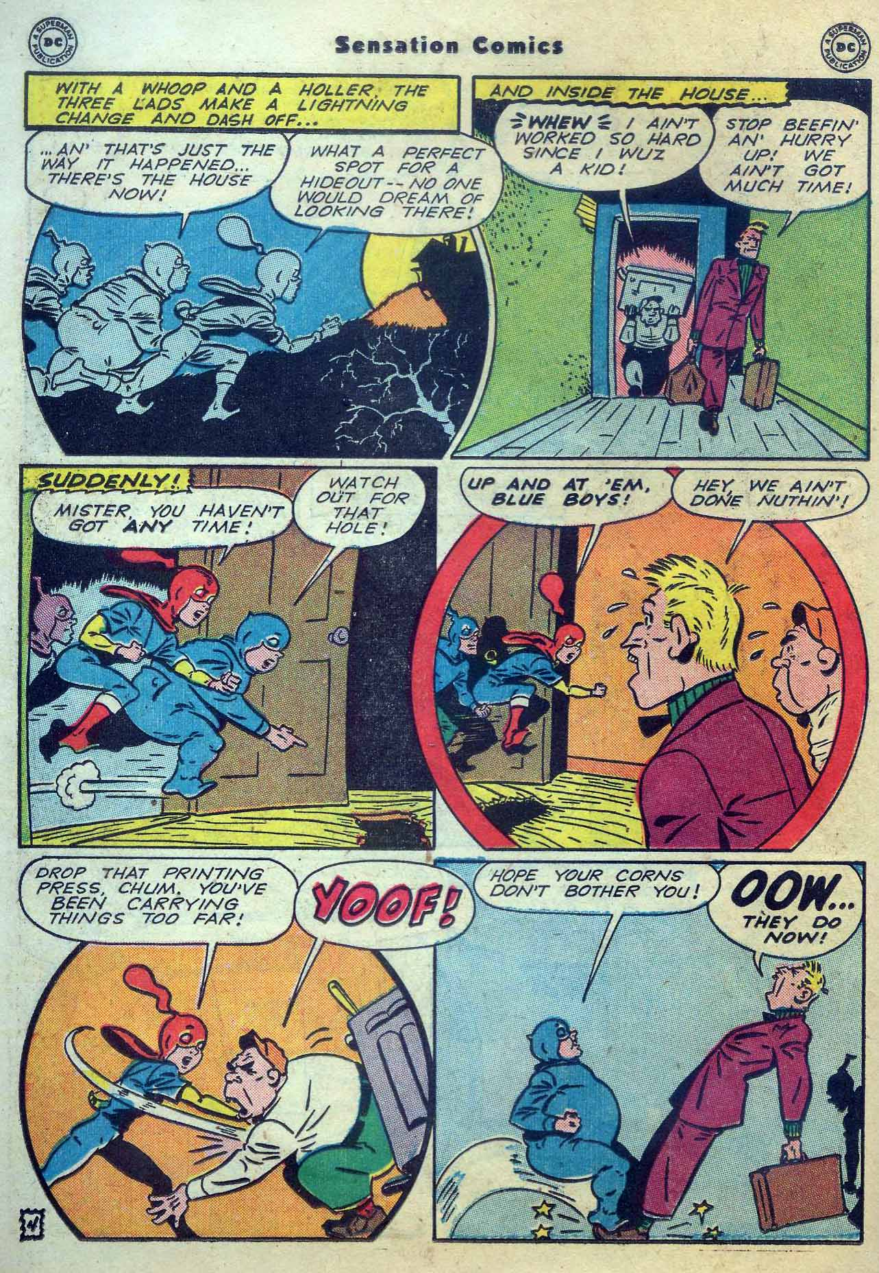 Read online Sensation (Mystery) Comics comic -  Issue #56 - 20
