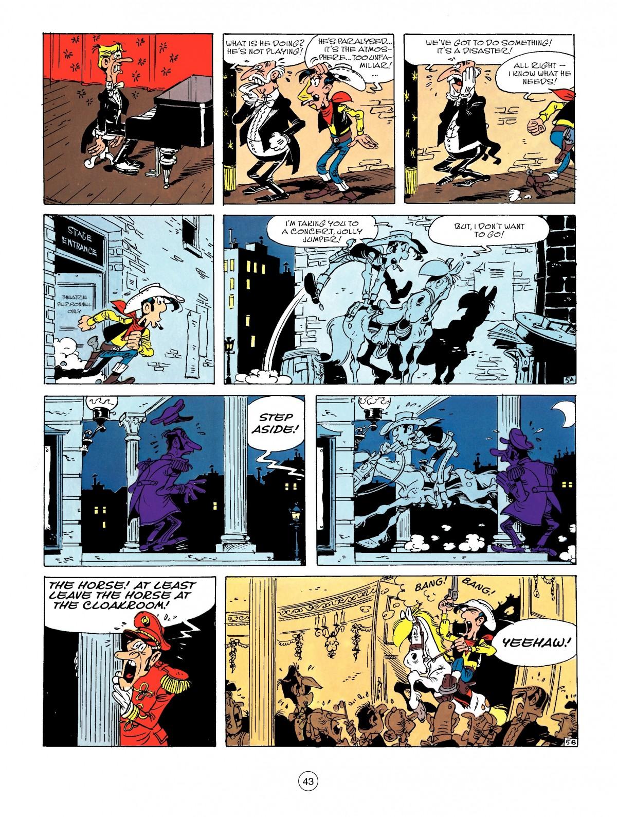 Read online A Lucky Luke Adventure comic -  Issue #50 - 43