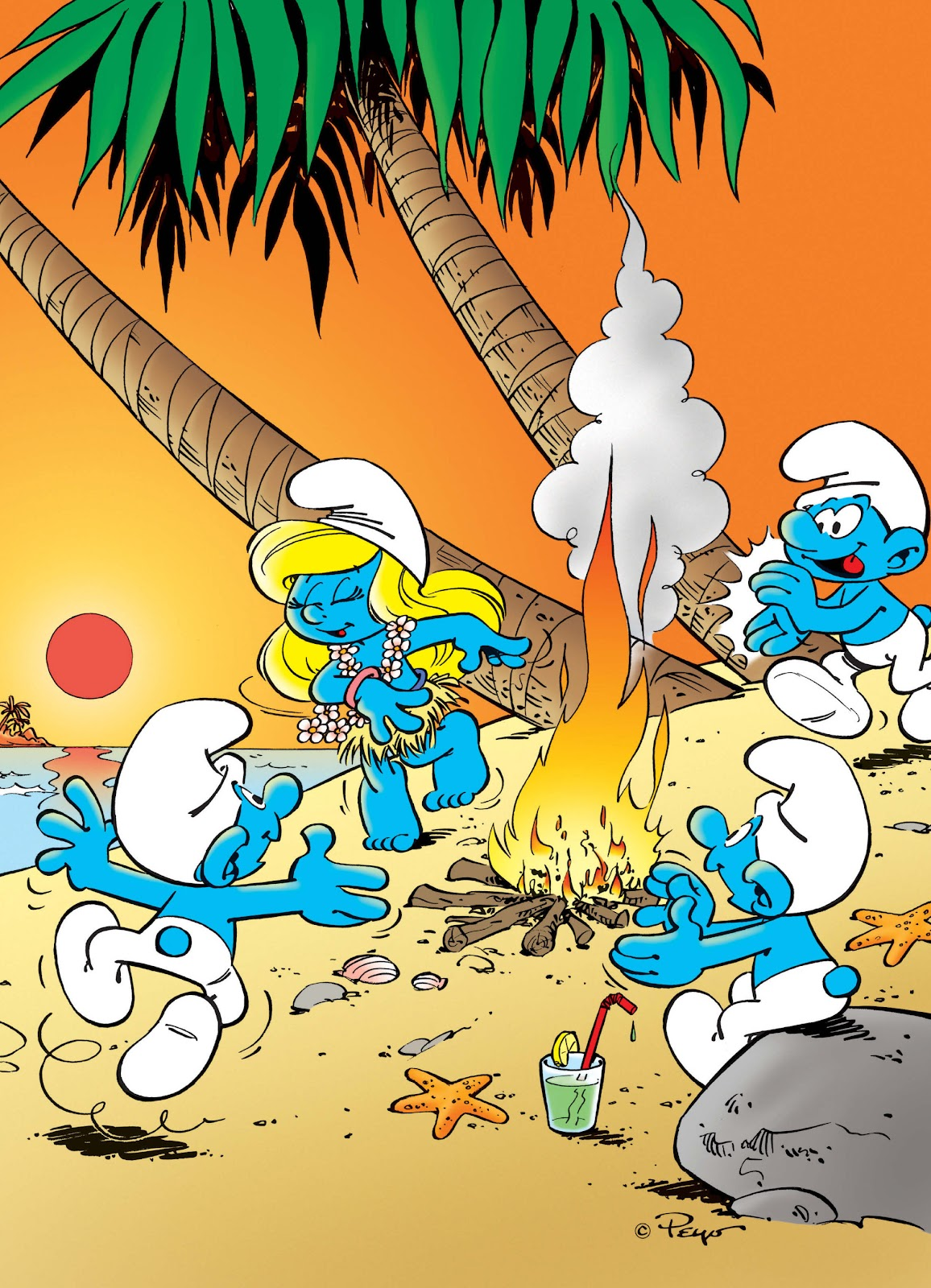 Read online The Smurfs comic -  Issue #17 - 42