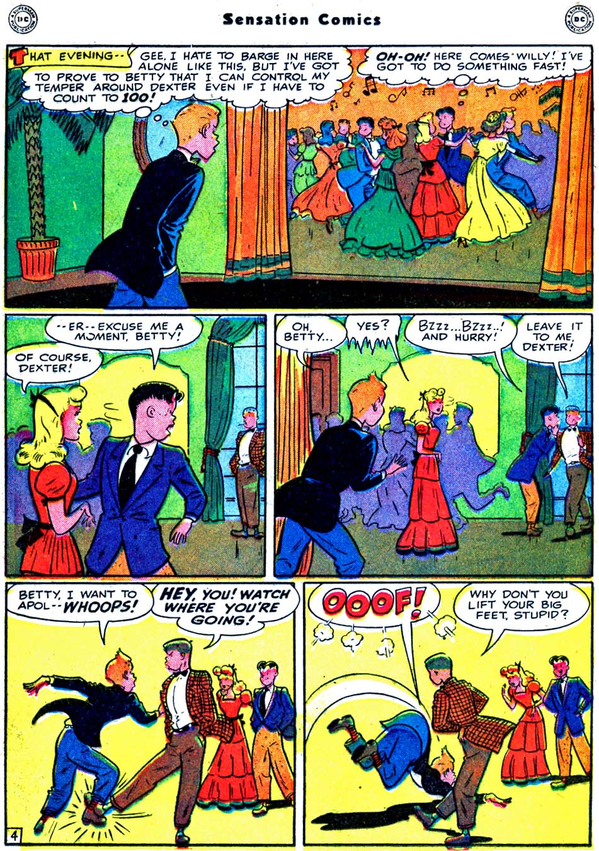 Read online Sensation (Mystery) Comics comic -  Issue #91 - 30
