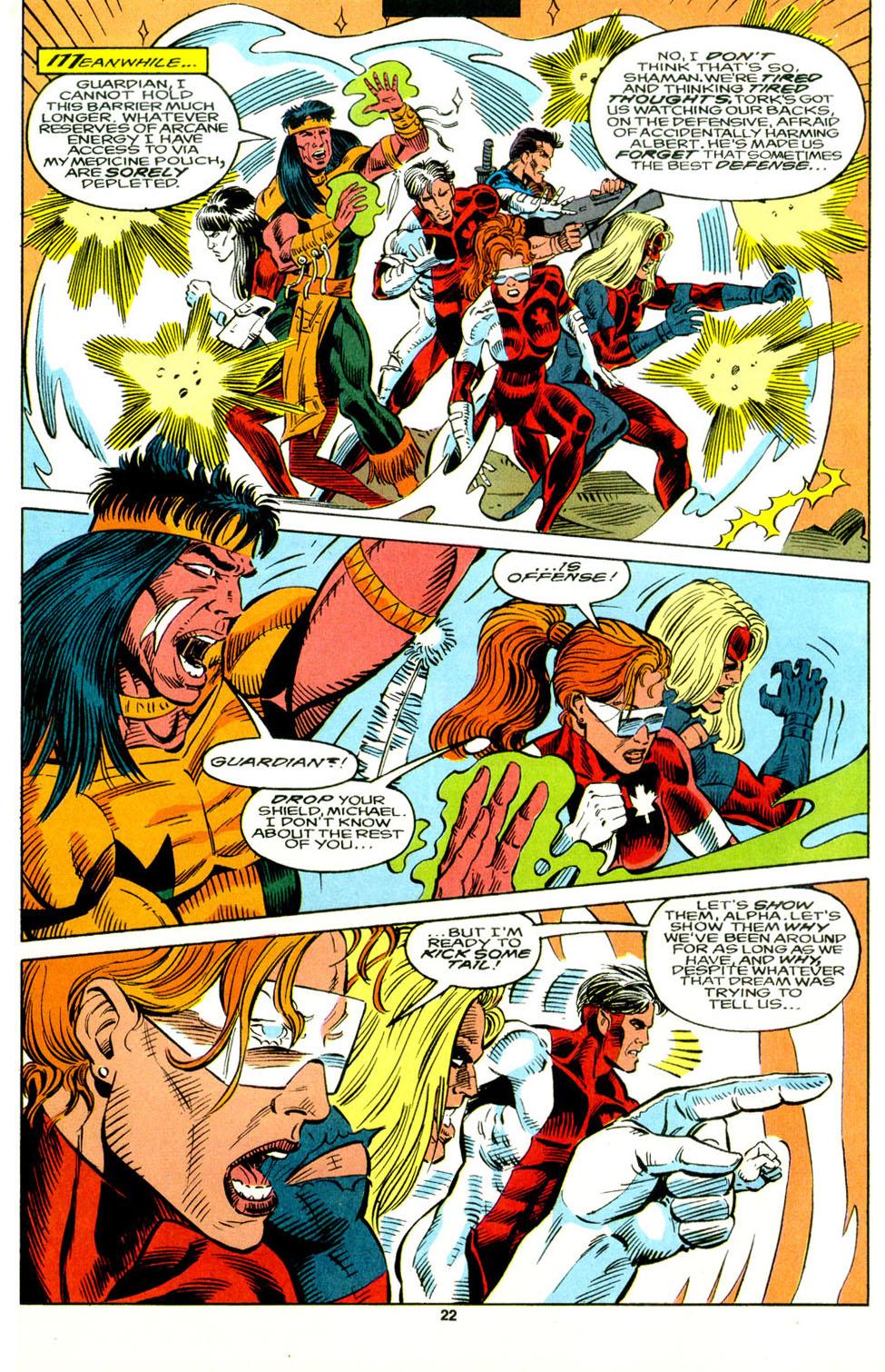 Read online Alpha Flight (1983) comic -  Issue #129 - 18