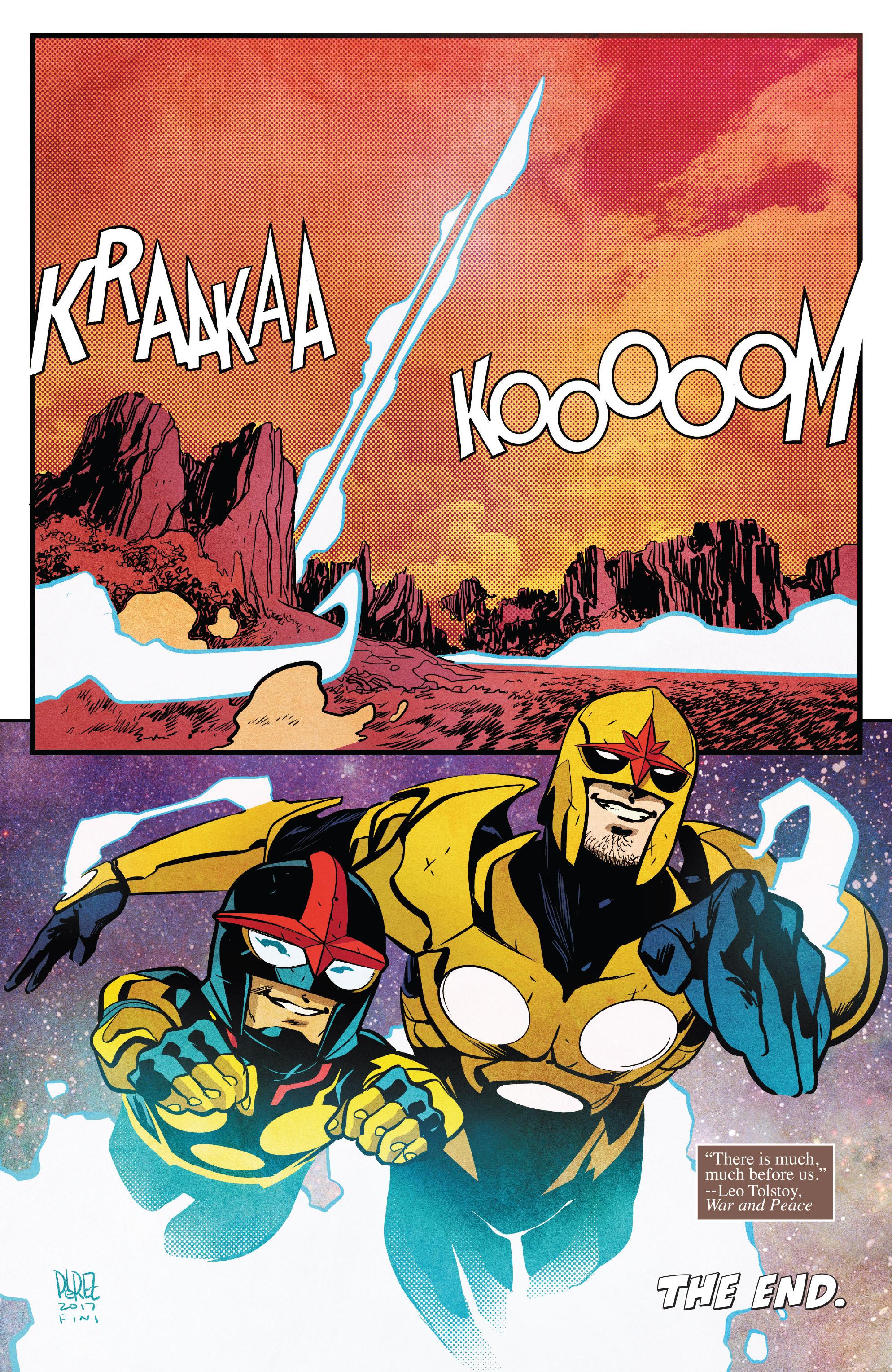 Read online Nova (2017) comic -  Issue #7 - 21