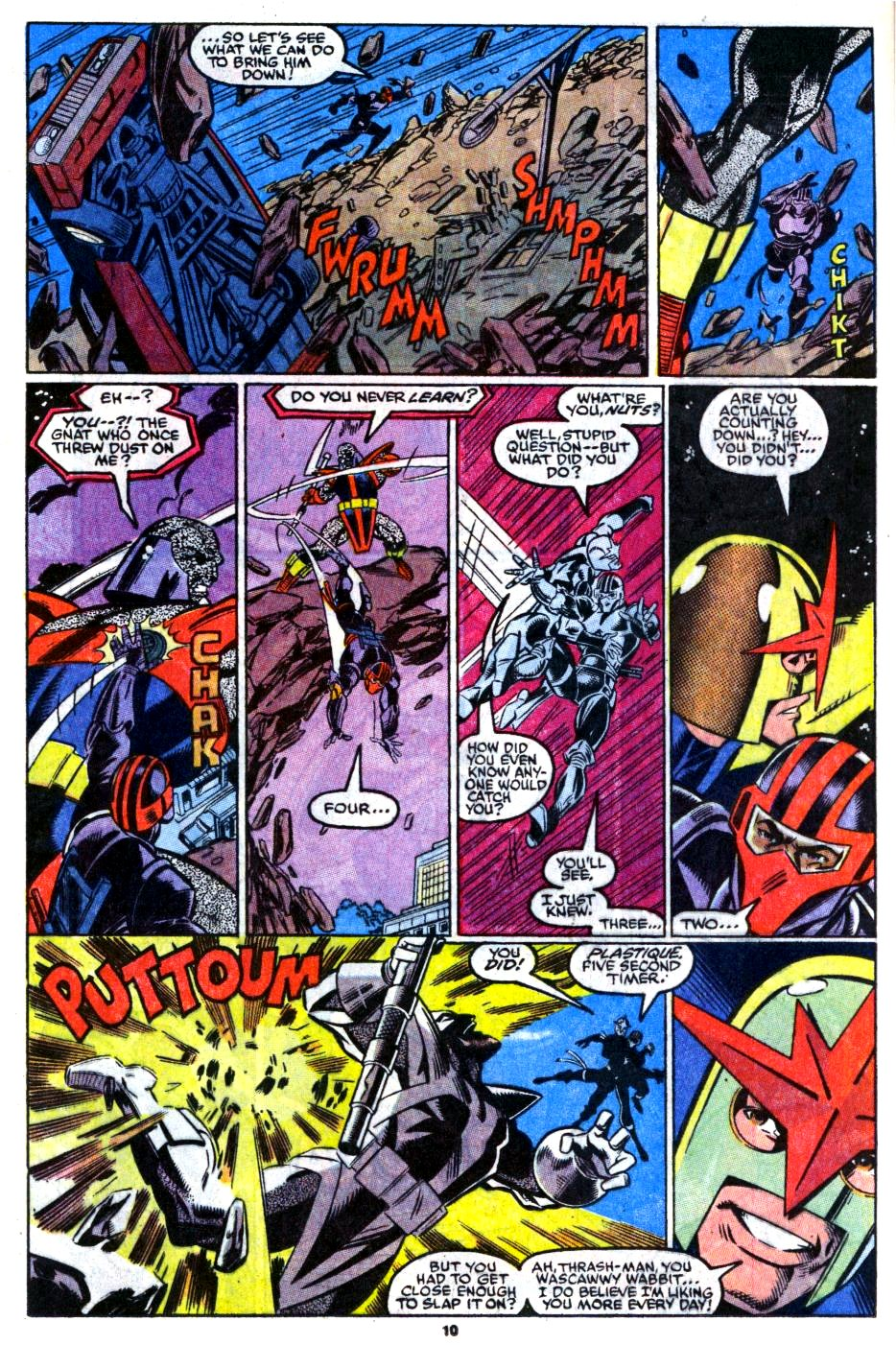 The New Warriors Issue #16 #20 - English 9