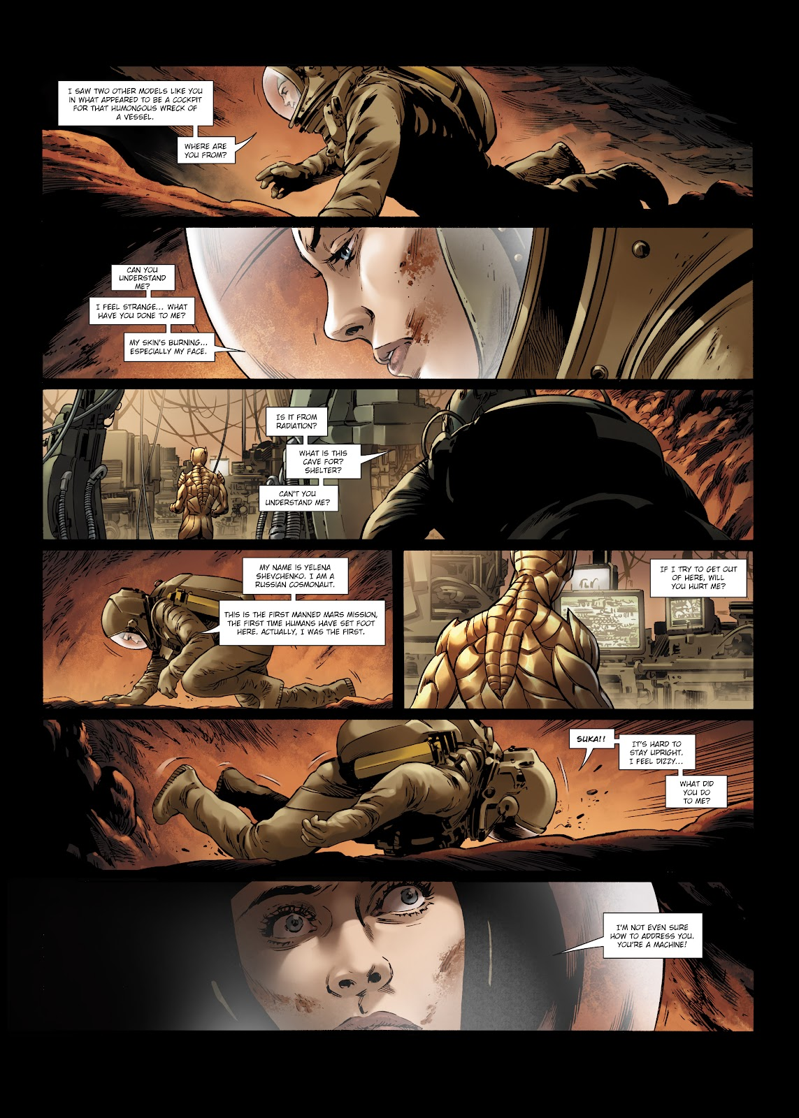 Read online Olympus Mons Vol. 1: Anomaly One comic -  Issue #5 - 11