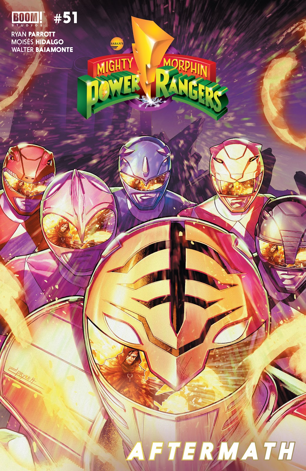 Mighty Morphin Power Rangers 51 Page 1