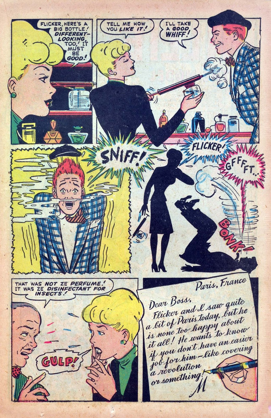 Read online Millie the Model comic -  Issue #9 - 19
