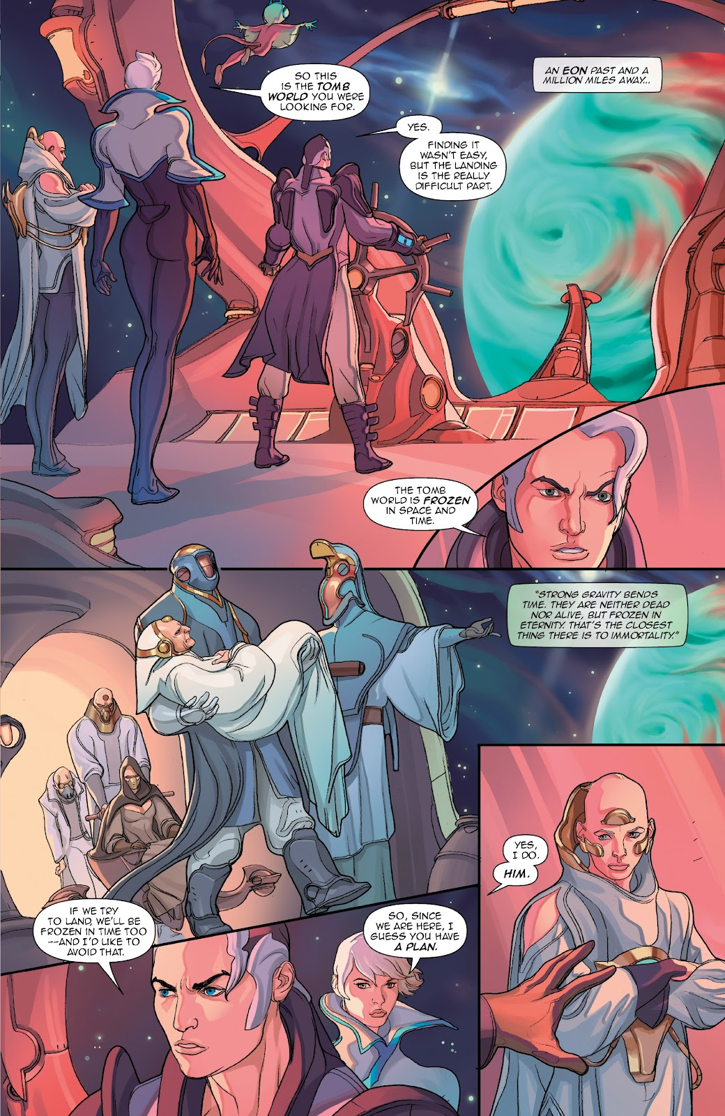 Read online Lightstep comic -  Issue #5 - 5
