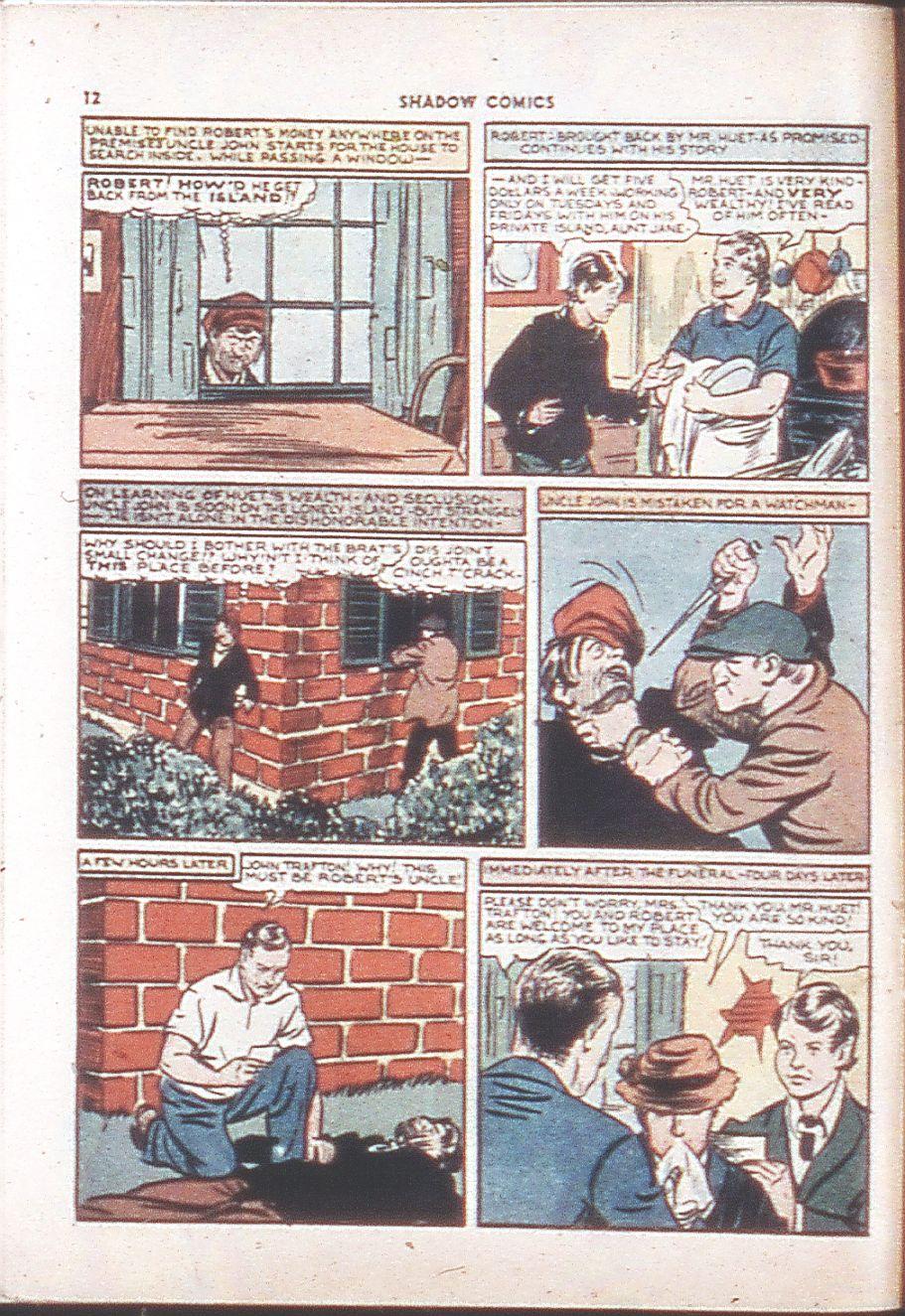 Read online Shadow Comics comic -  Issue #6 - 14