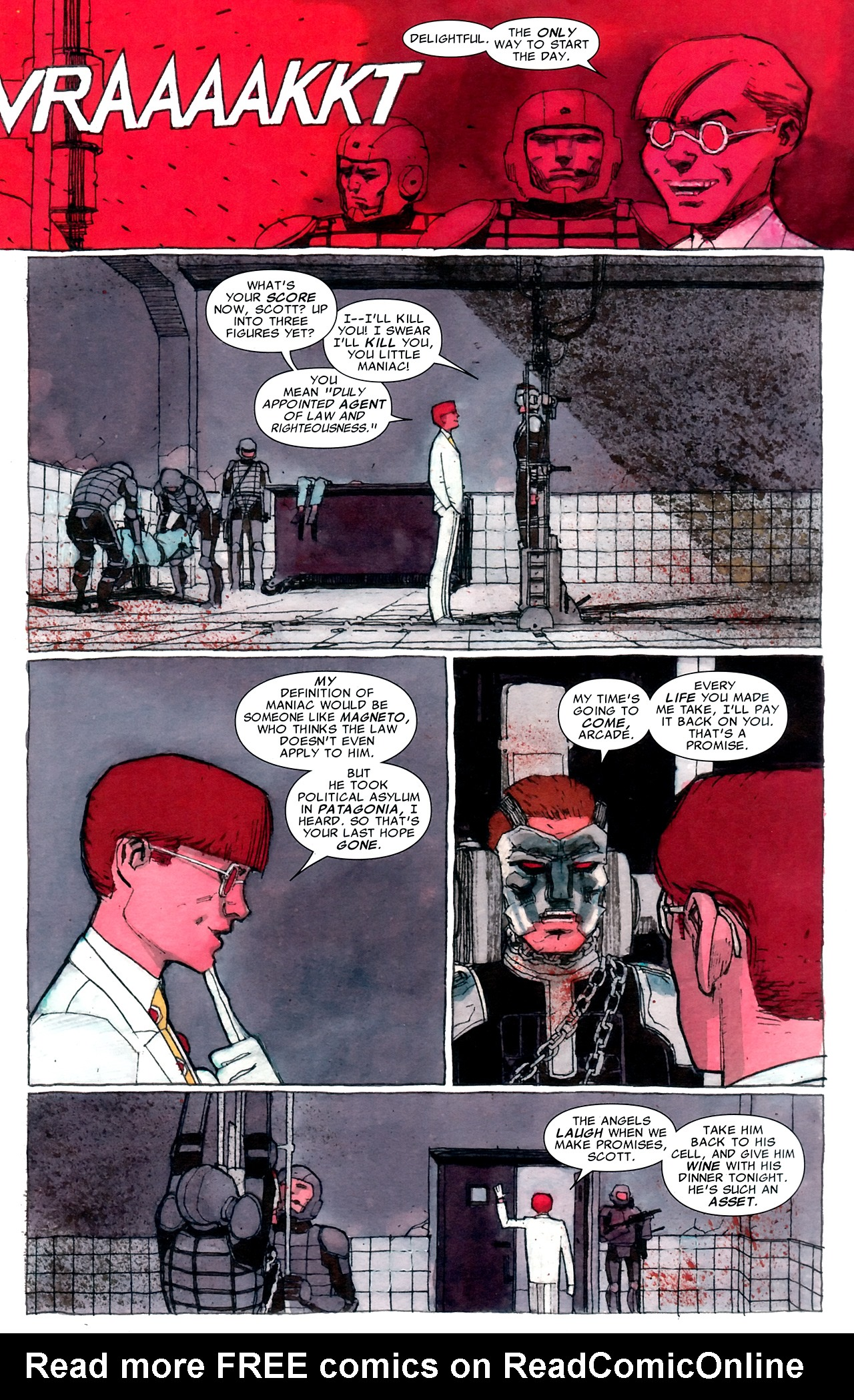 Read online Age of X: Alpha comic -  Issue #Age of X: Alpha Full - 12