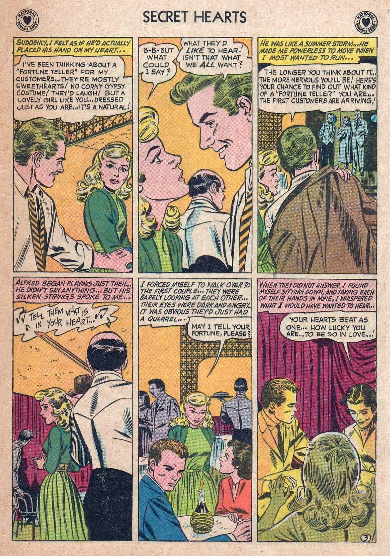 Read online Secret Hearts comic -  Issue #73 - 29