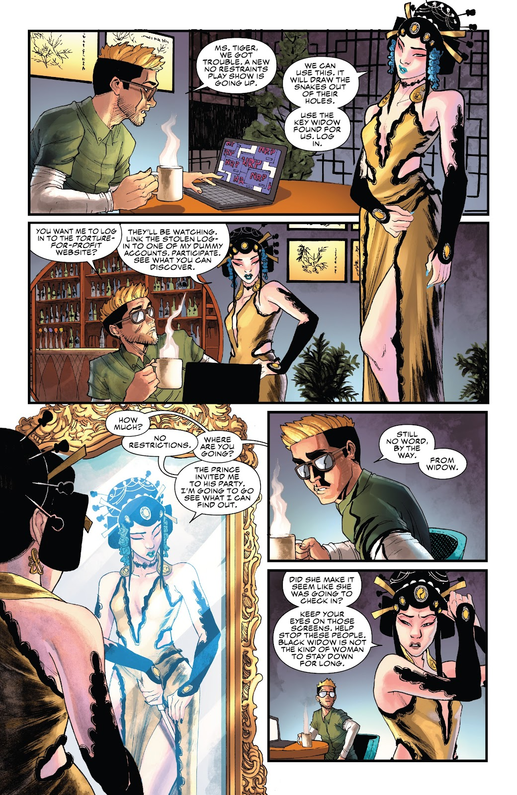 Read online Black Widow (2019) comic -  Issue #3 - 4