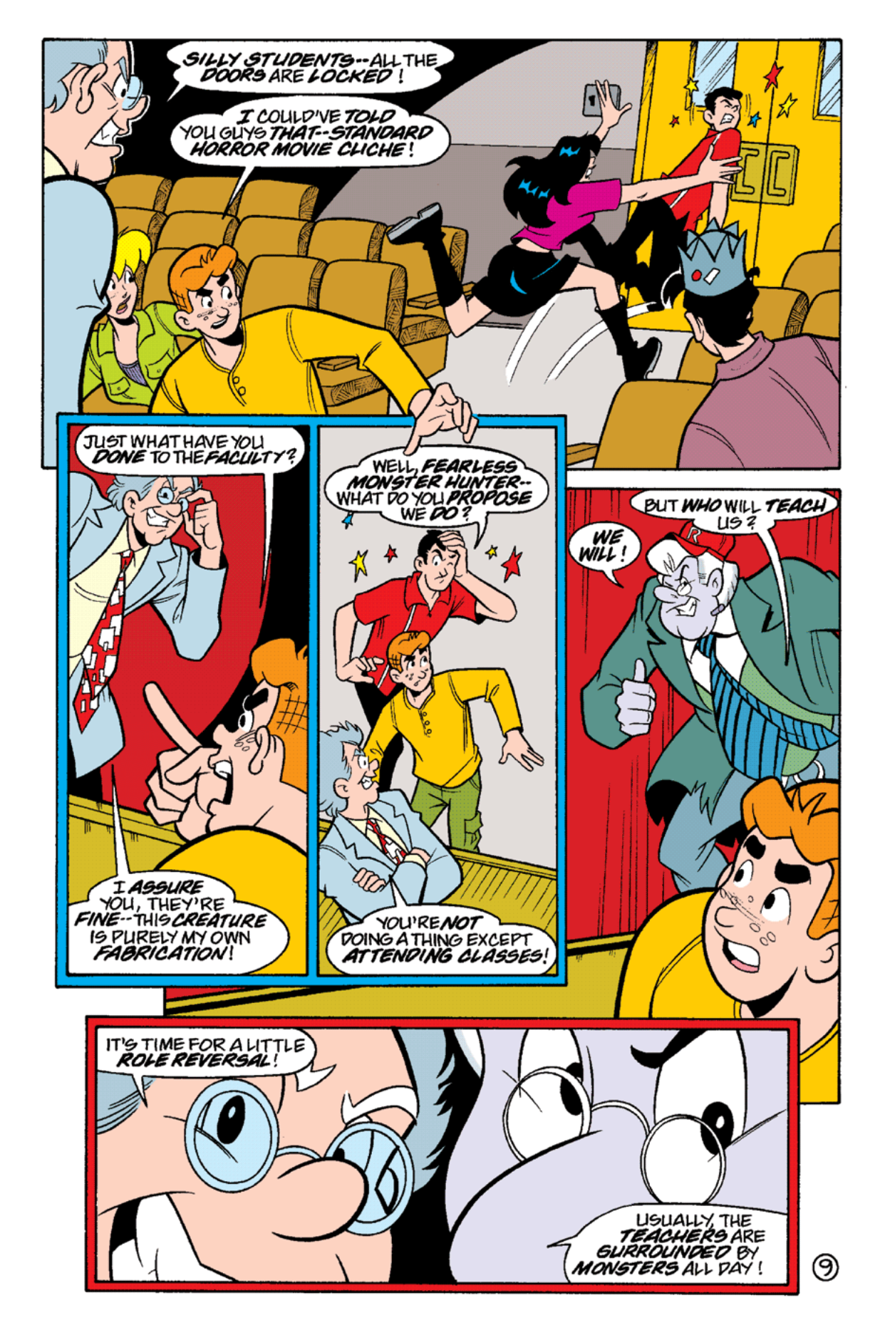 Read online Archie's Weird Mysteries comic -  Issue #16 - 11