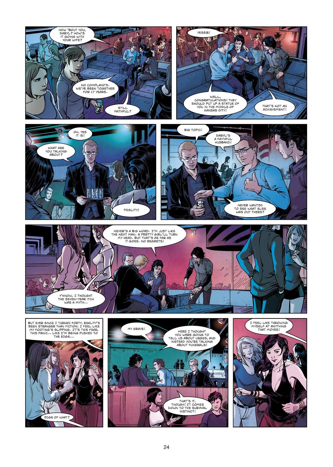 Read online Vigilantes comic -  Issue #2 - 24
