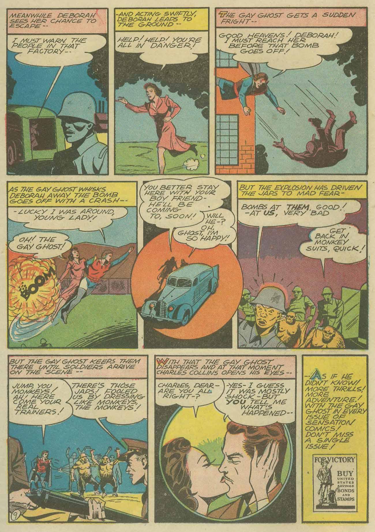 Read online Sensation (Mystery) Comics comic -  Issue #9 - 45