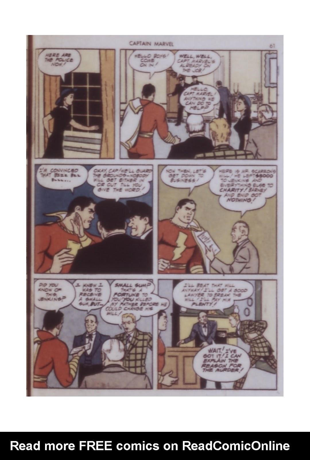 Captain Marvel Adventures issue 14 - Page 61