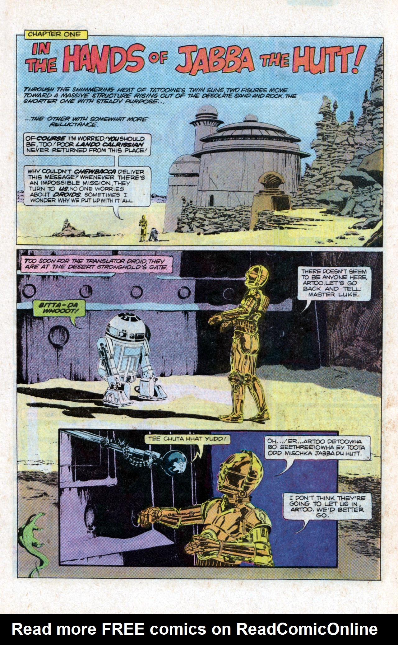 Read online Star Wars: Return of the Jedi comic -  Issue #1 - 7