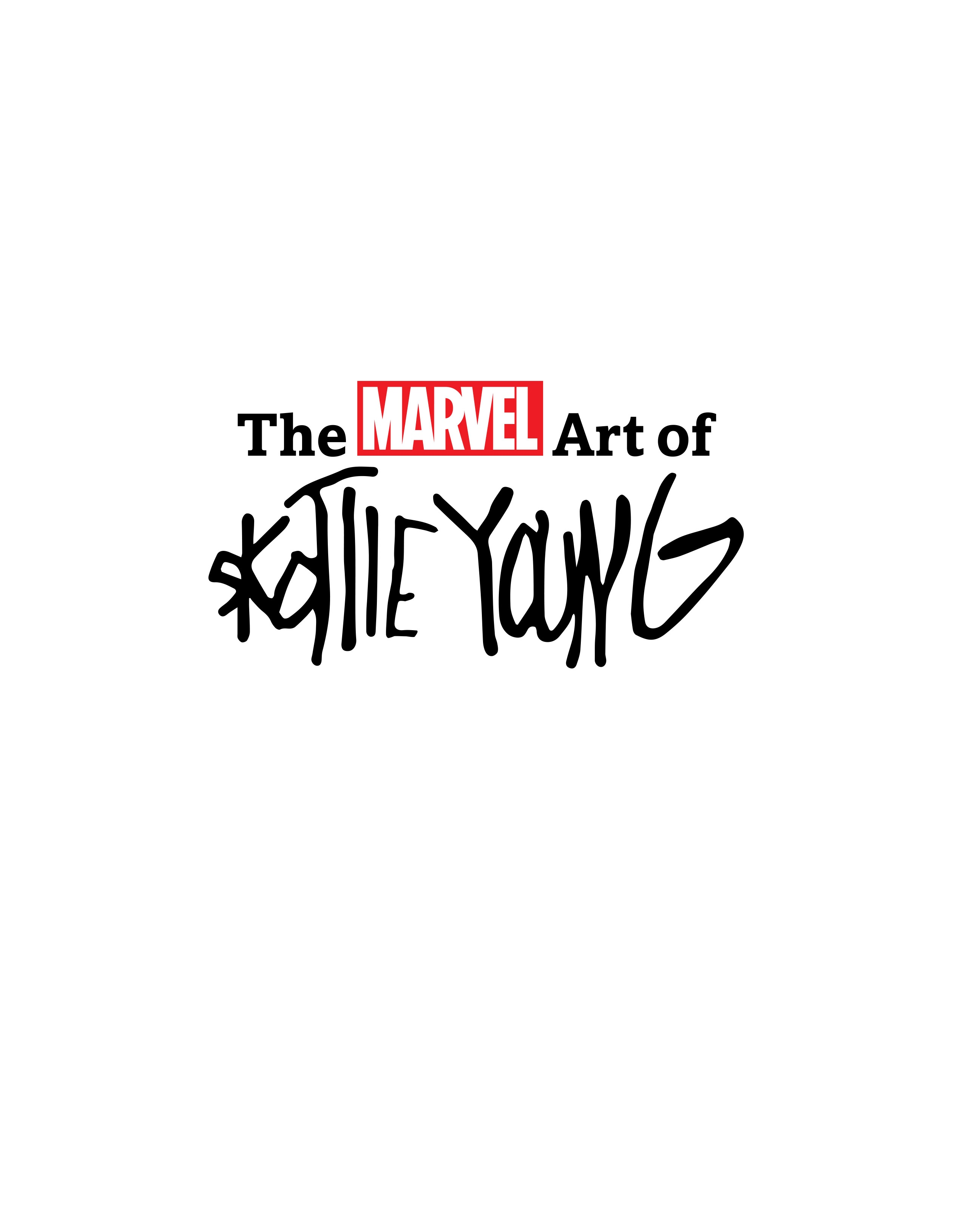 The Marvel Art of Skottie Young TPB Page 2