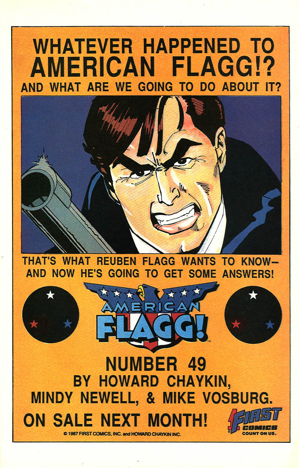 Read online American Flagg! comic -  Issue #48 - 23