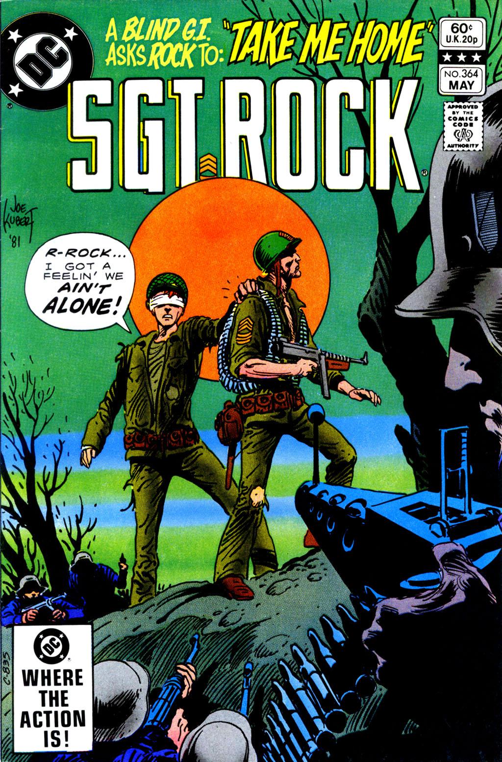 Read online Sgt. Rock comic -  Issue #364 - 1