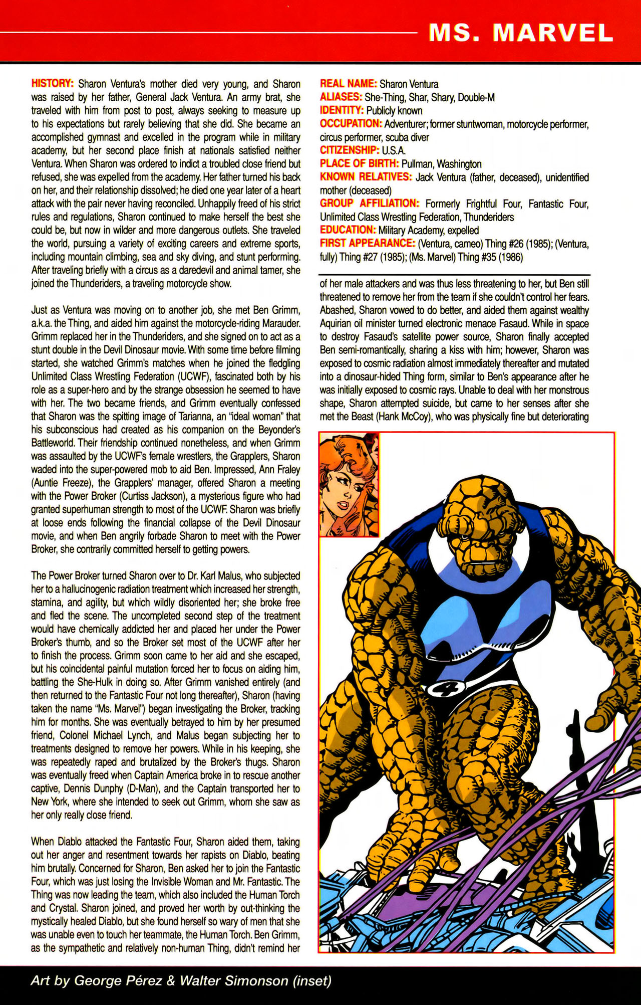 Read online All-New Official Handbook of the Marvel Universe A to Z comic -  Issue #7 - 57