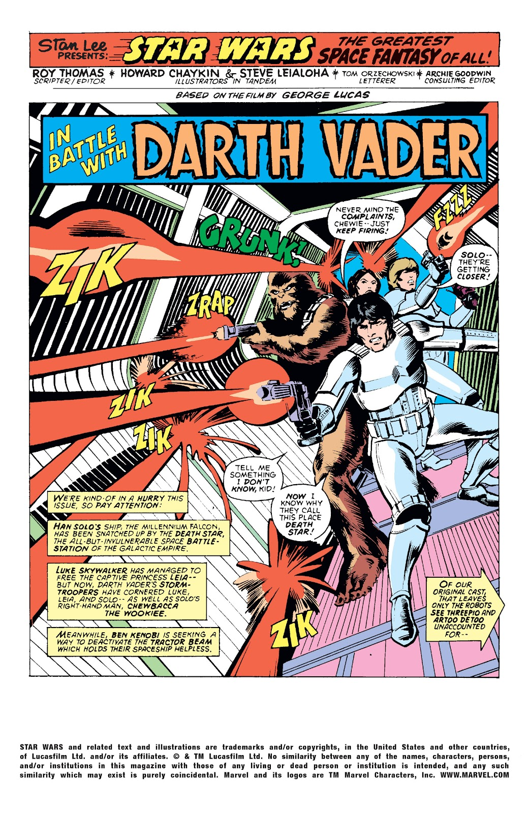 Read online Star Wars Legends: The Original Marvel Years - Epic Collection comic -  Issue # TPB 1 (Part 1) - 63
