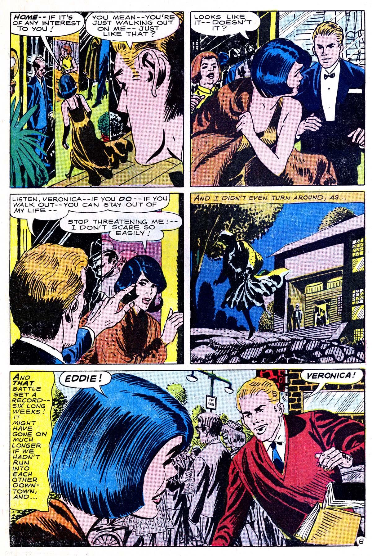 Read online Secret Hearts comic -  Issue #114 - 10