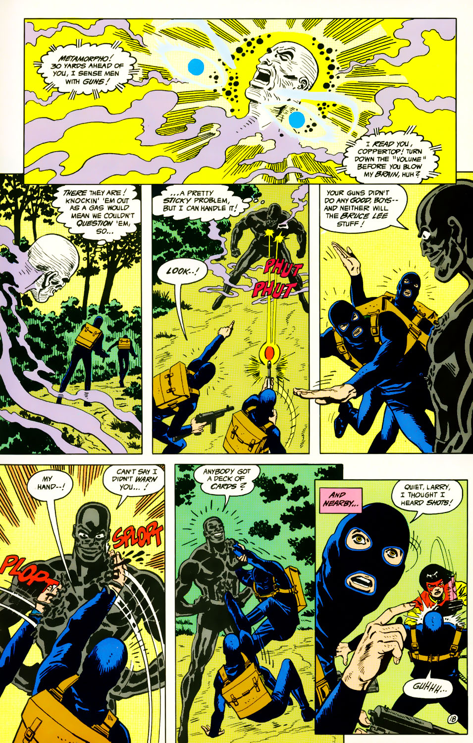 Read online Adventures of the Outsiders comic -  Issue #39 - 19