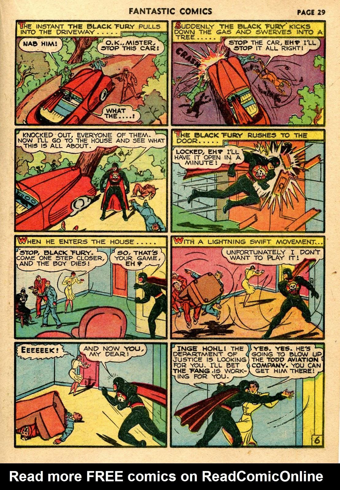 Read online Fantastic Comics comic -  Issue #21 - 31