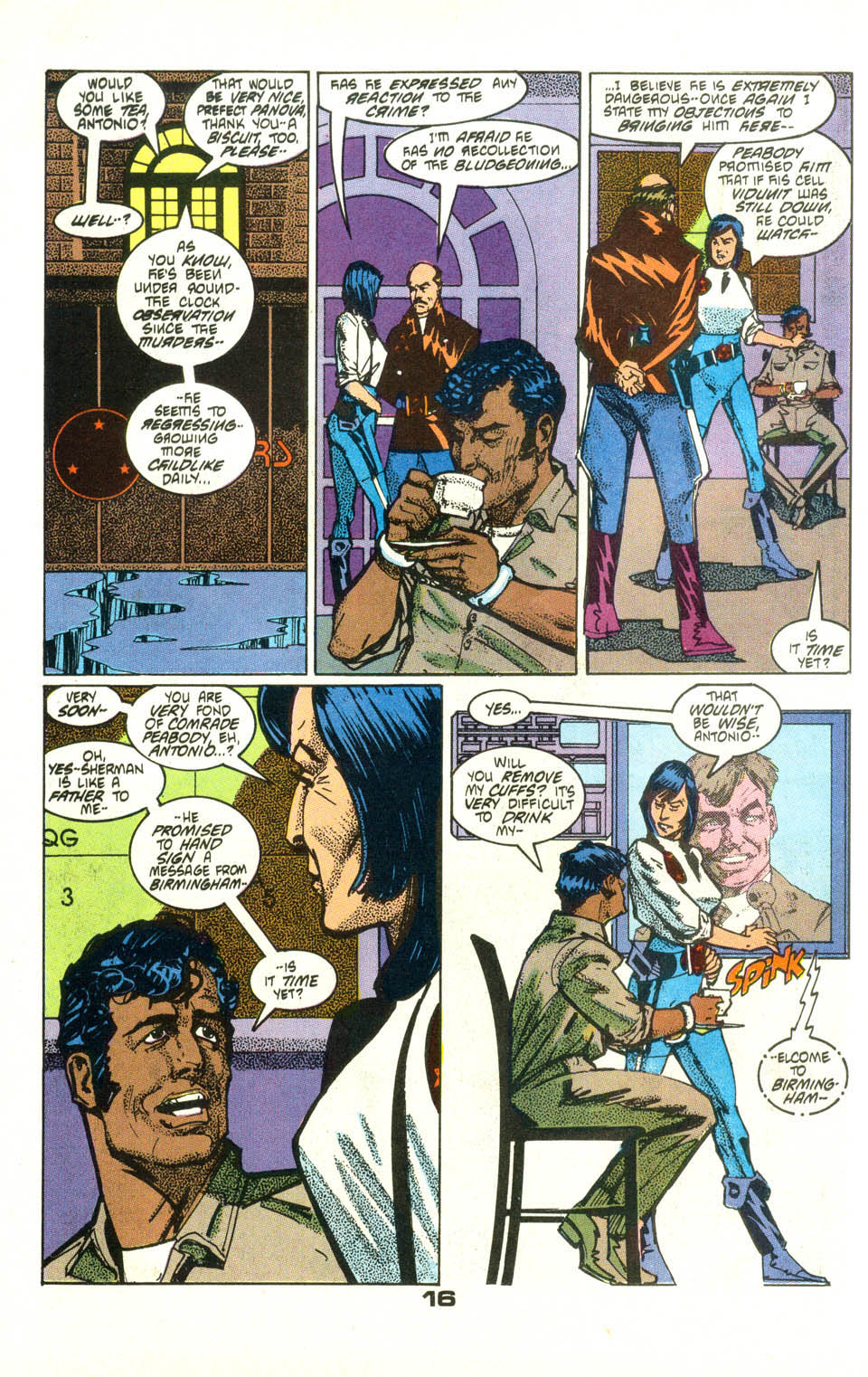 Read online American Flagg! comic -  Issue #25 - 18
