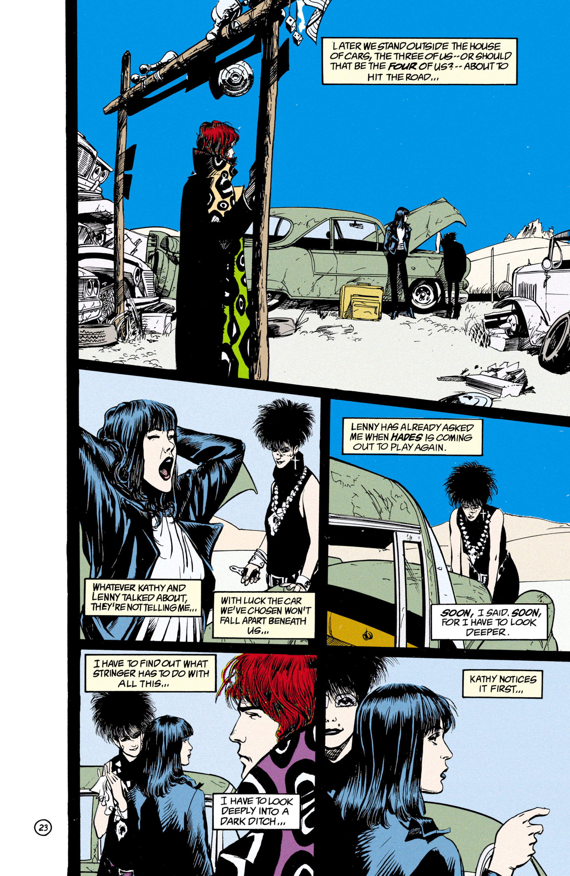 Read online Shade, the Changing Man comic -  Issue #21 - 24