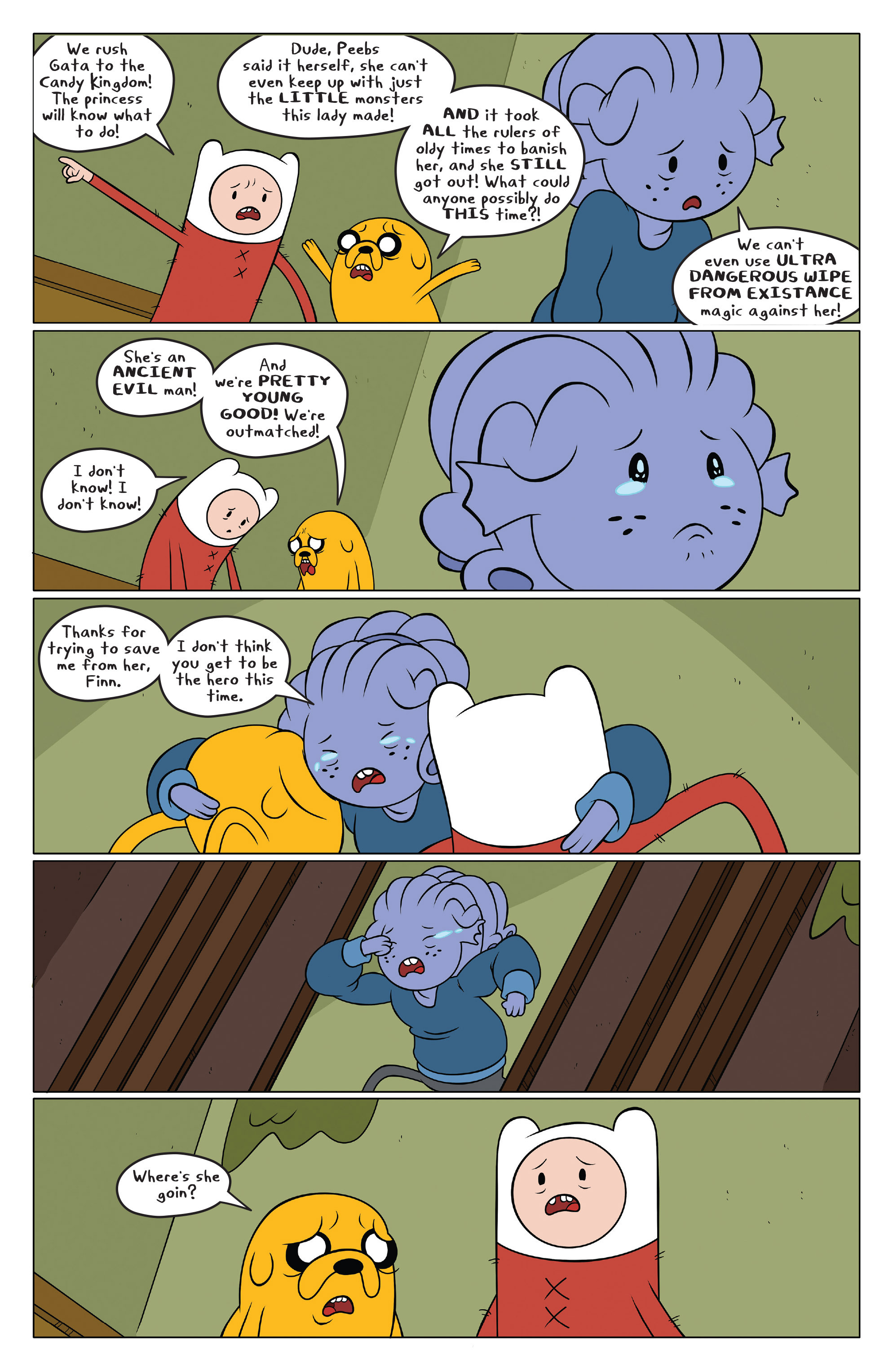 Read online Adventure Time comic -  Issue #49 - 17