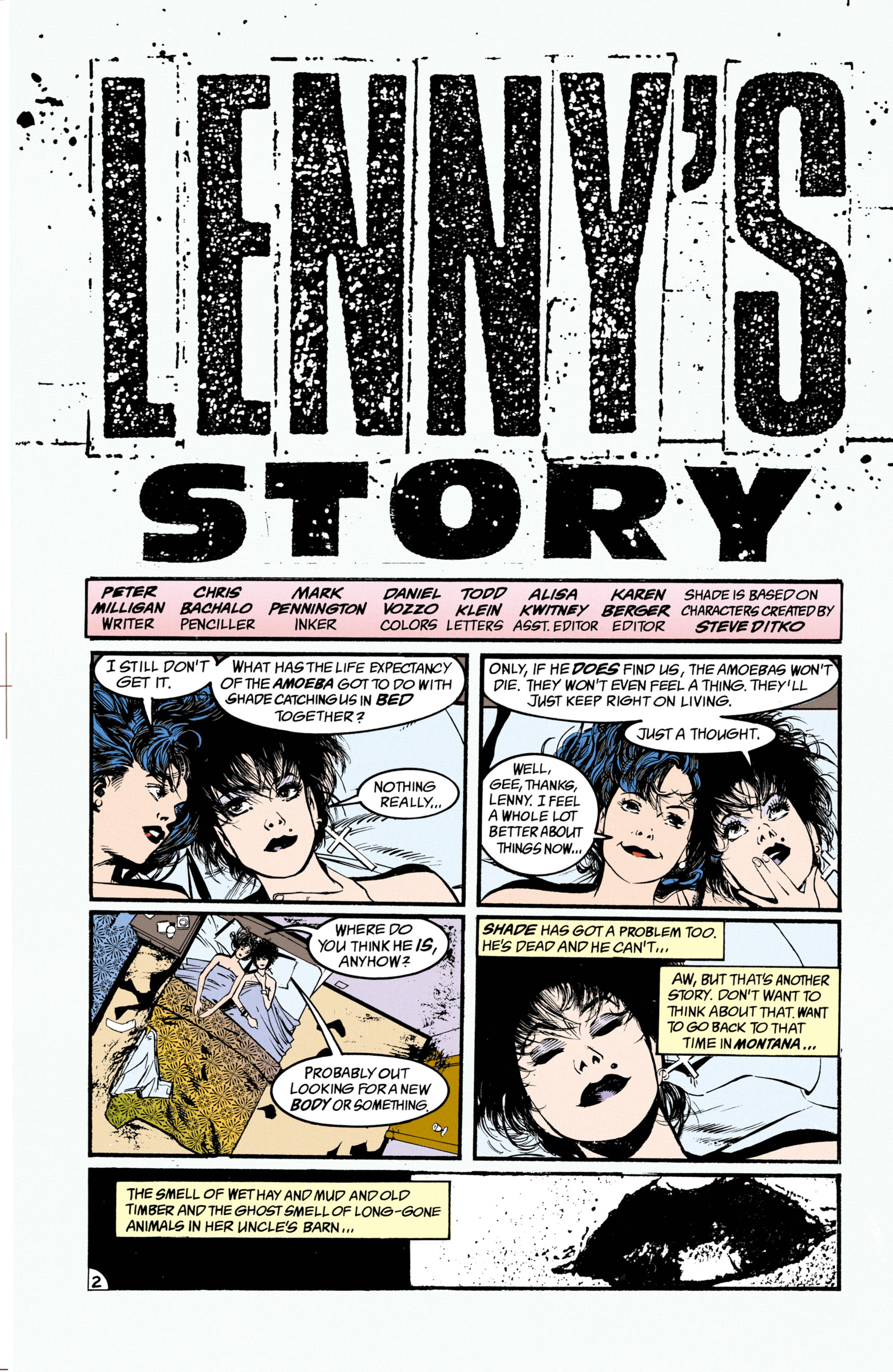 Read online Shade, the Changing Man comic -  Issue #26 - 3