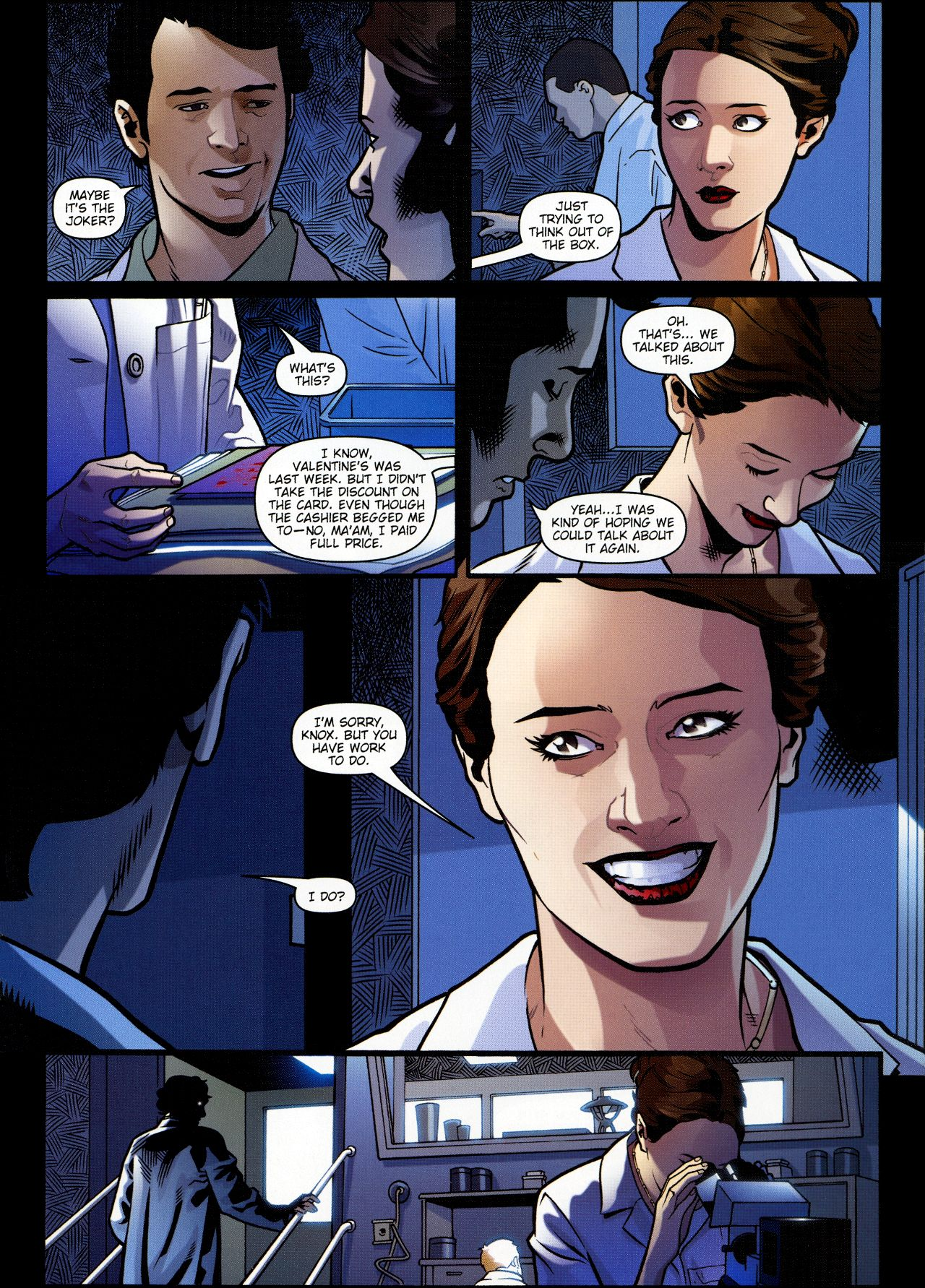 Read online Angel: Smile Time comic -  Issue #1 - 8