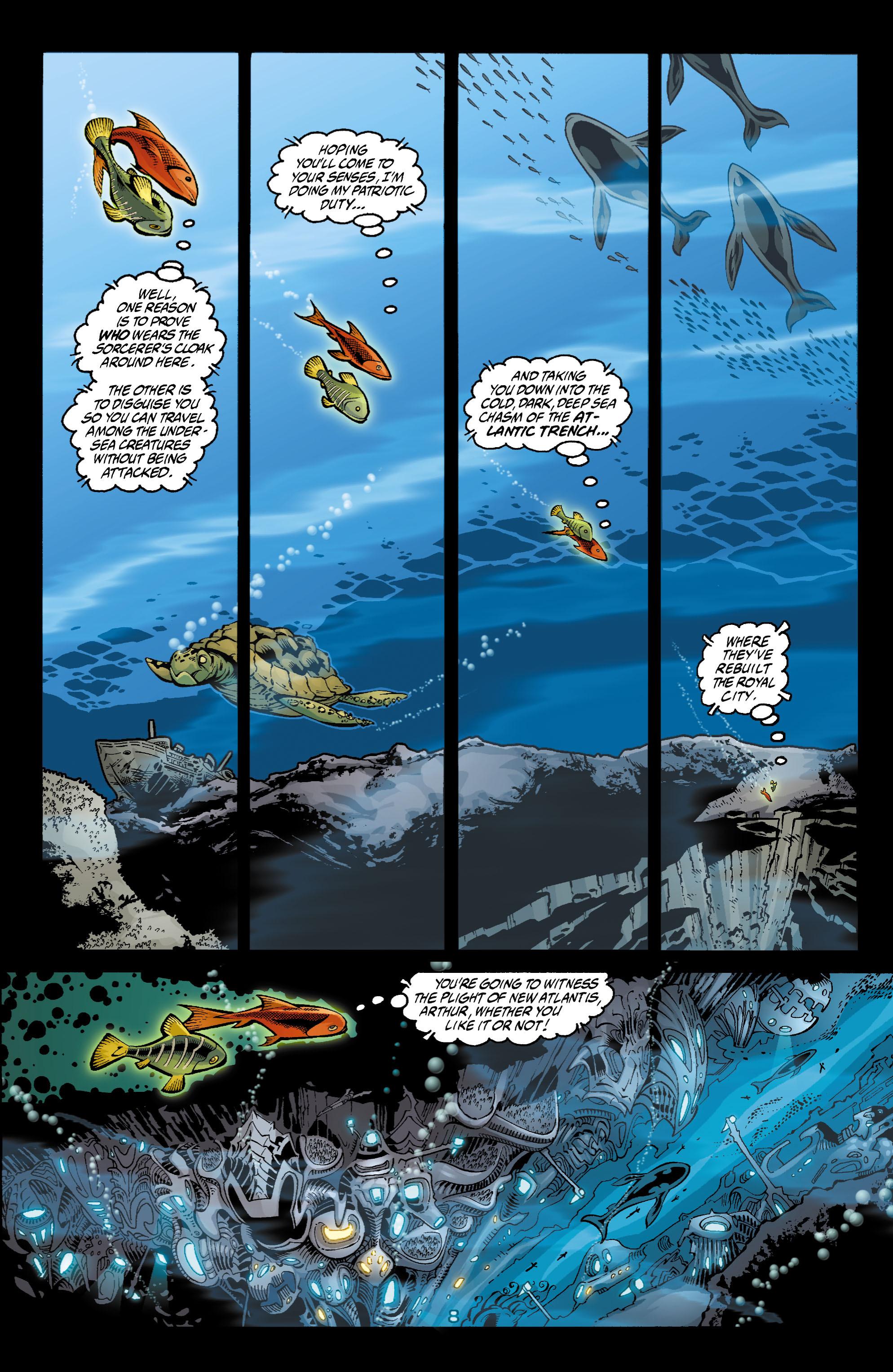 Read online Aquaman (2003) comic -  Issue #4 - 9