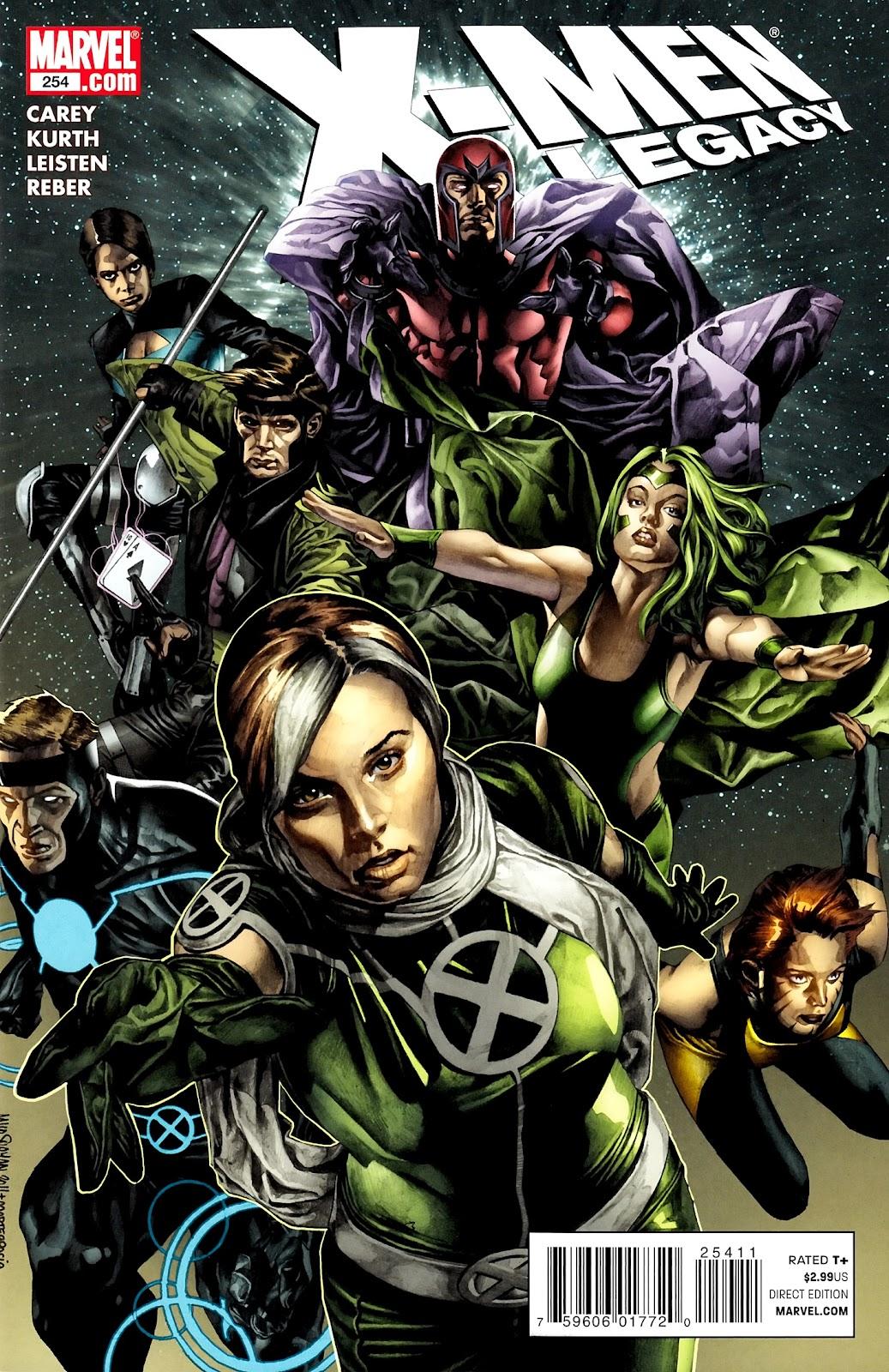 X-Men Legacy (2008) 254 Page 1
