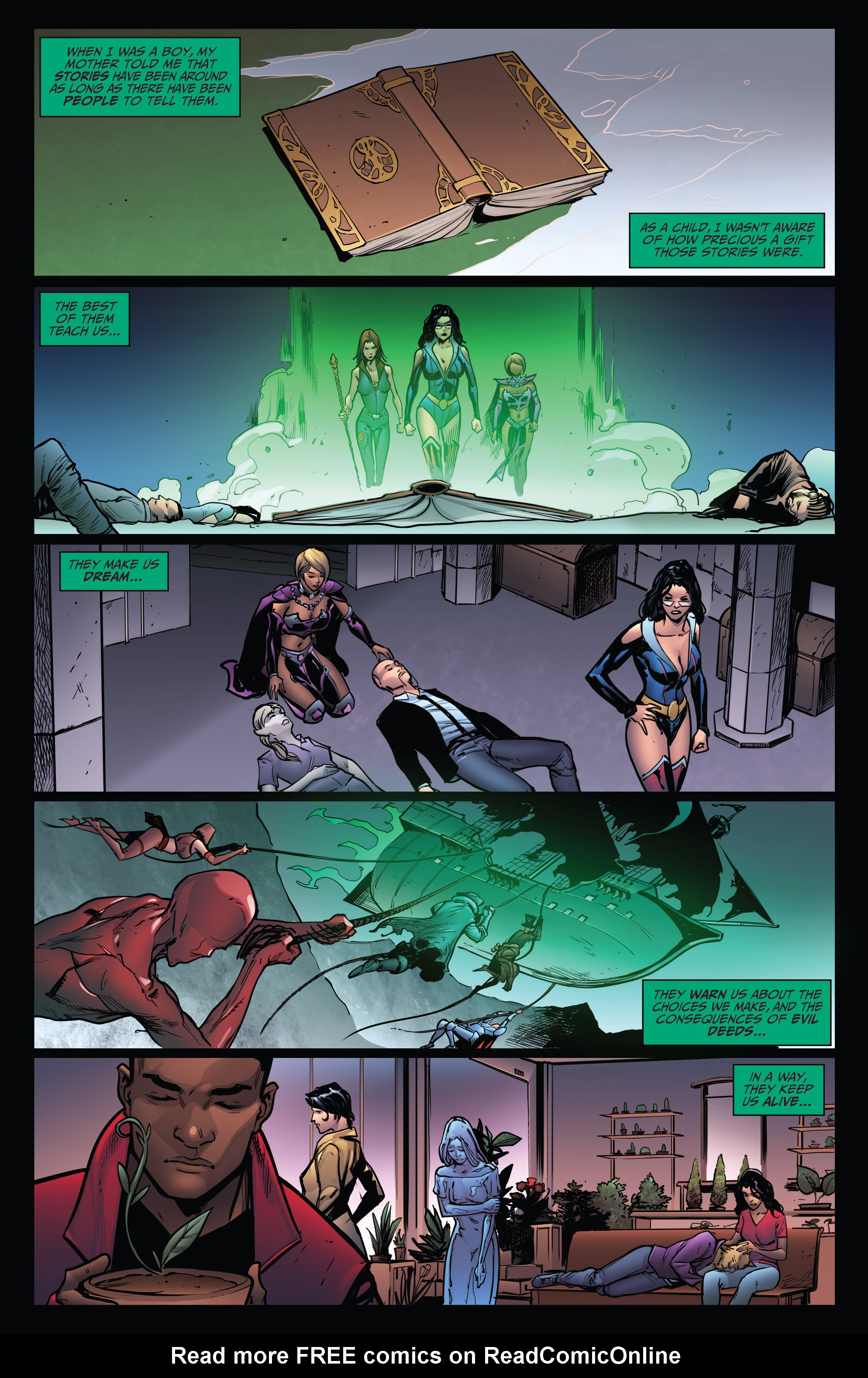 Read online Grimm Fairy Tales: Arcane Acre comic -  Issue # TPB 4 - 143