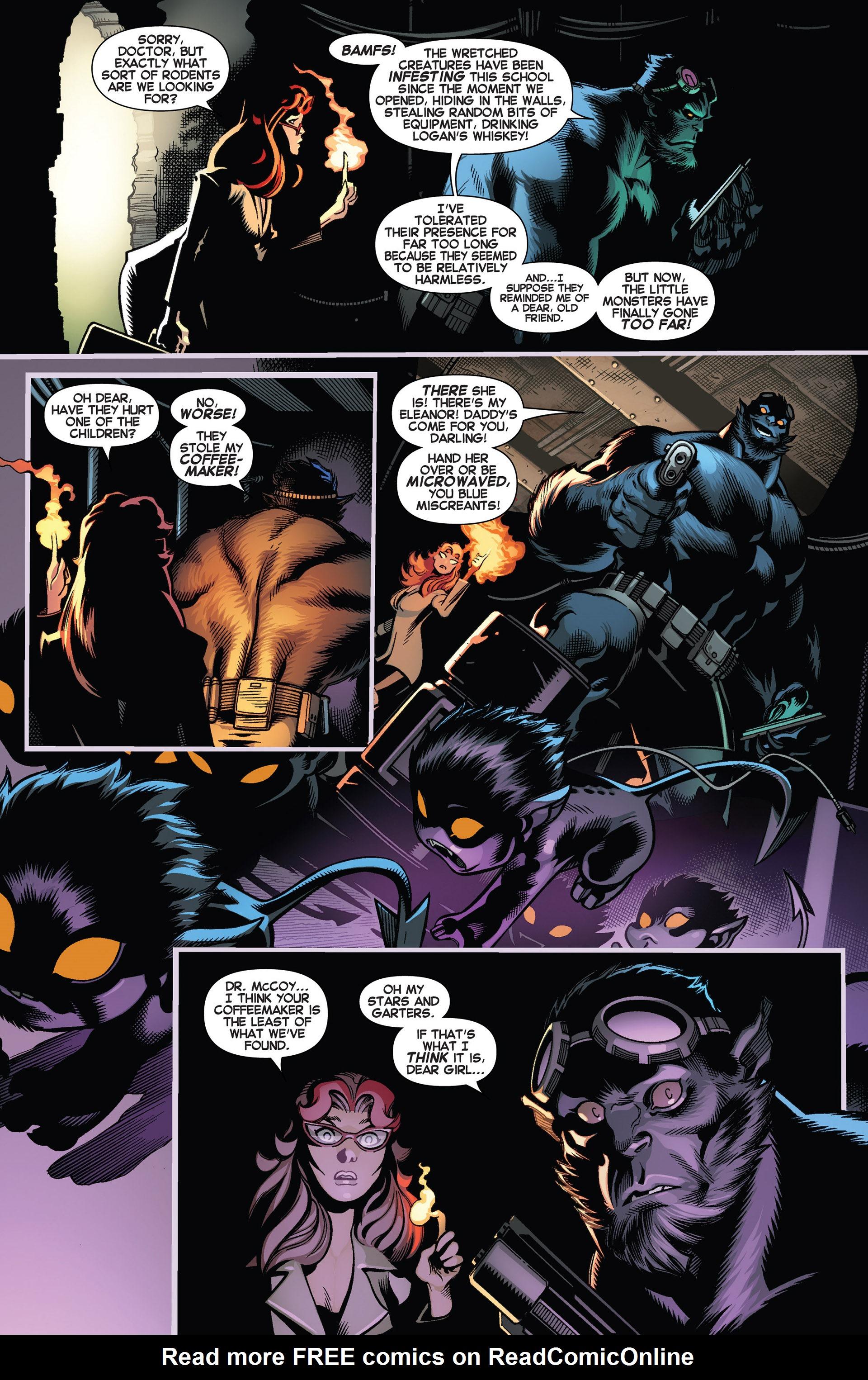 Read online Amazing X-Men (2014) comic -  Issue #1 - 18