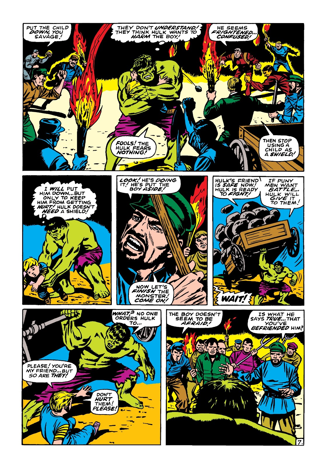 Read online Marvel Masterworks: The Incredible Hulk comic -  Issue # TPB 4 (Part 1) - 98
