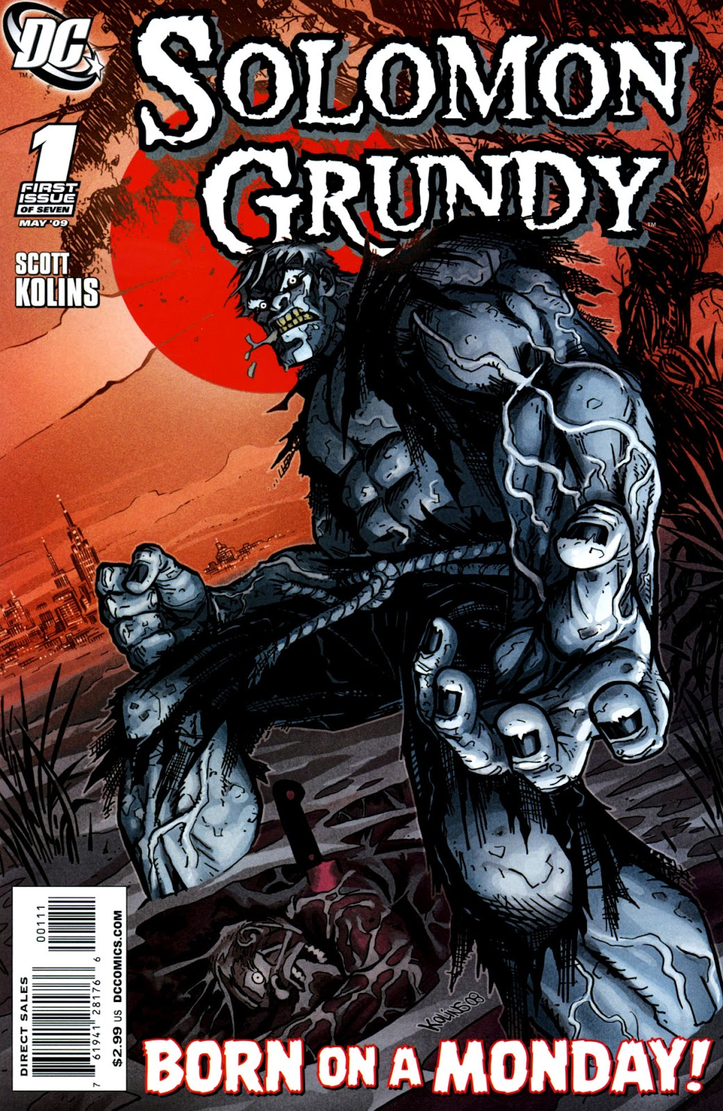 Solomon Grundy issue 1 - Page 1
