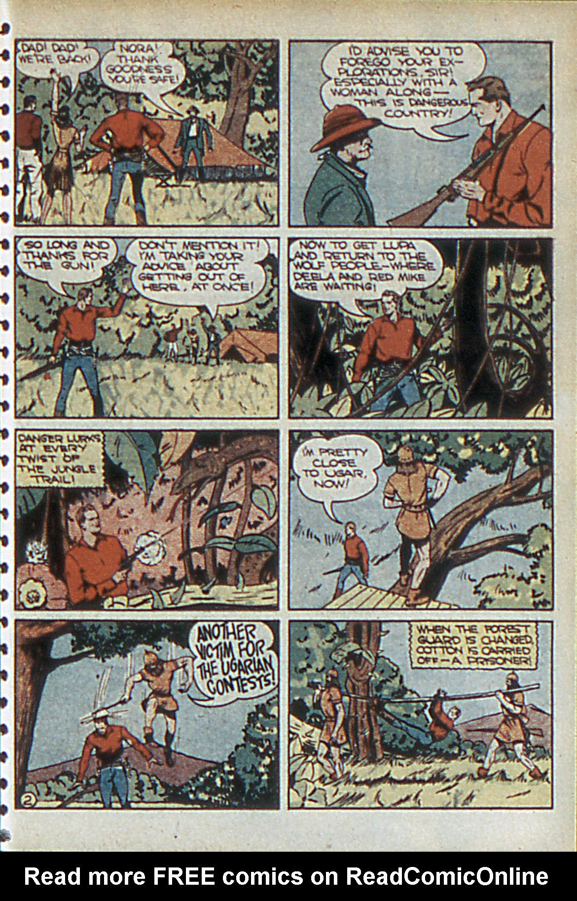 Read online Adventure Comics (1938) comic -  Issue #55 - 34